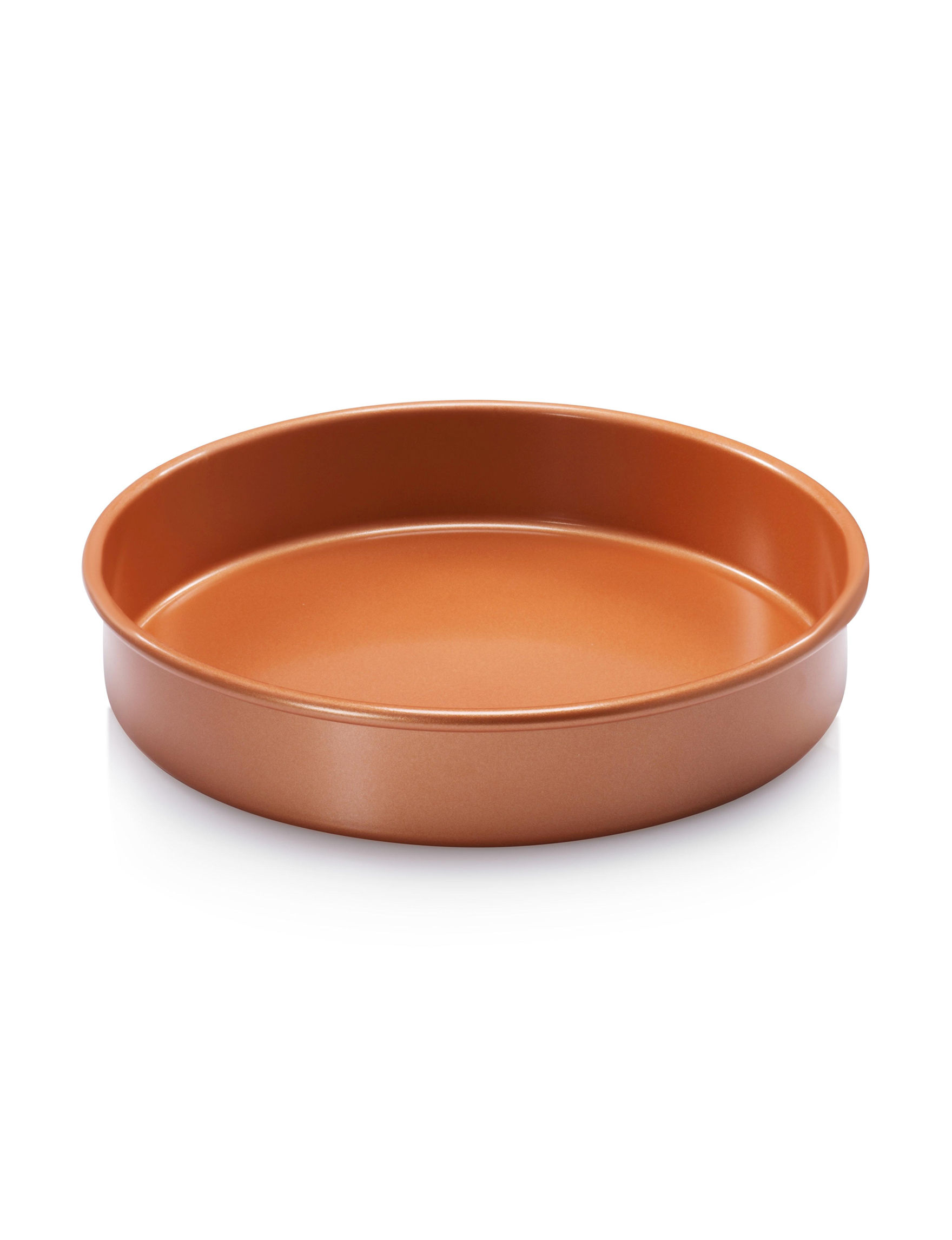 Gotham Steel Copper Cake Pans Bakeware