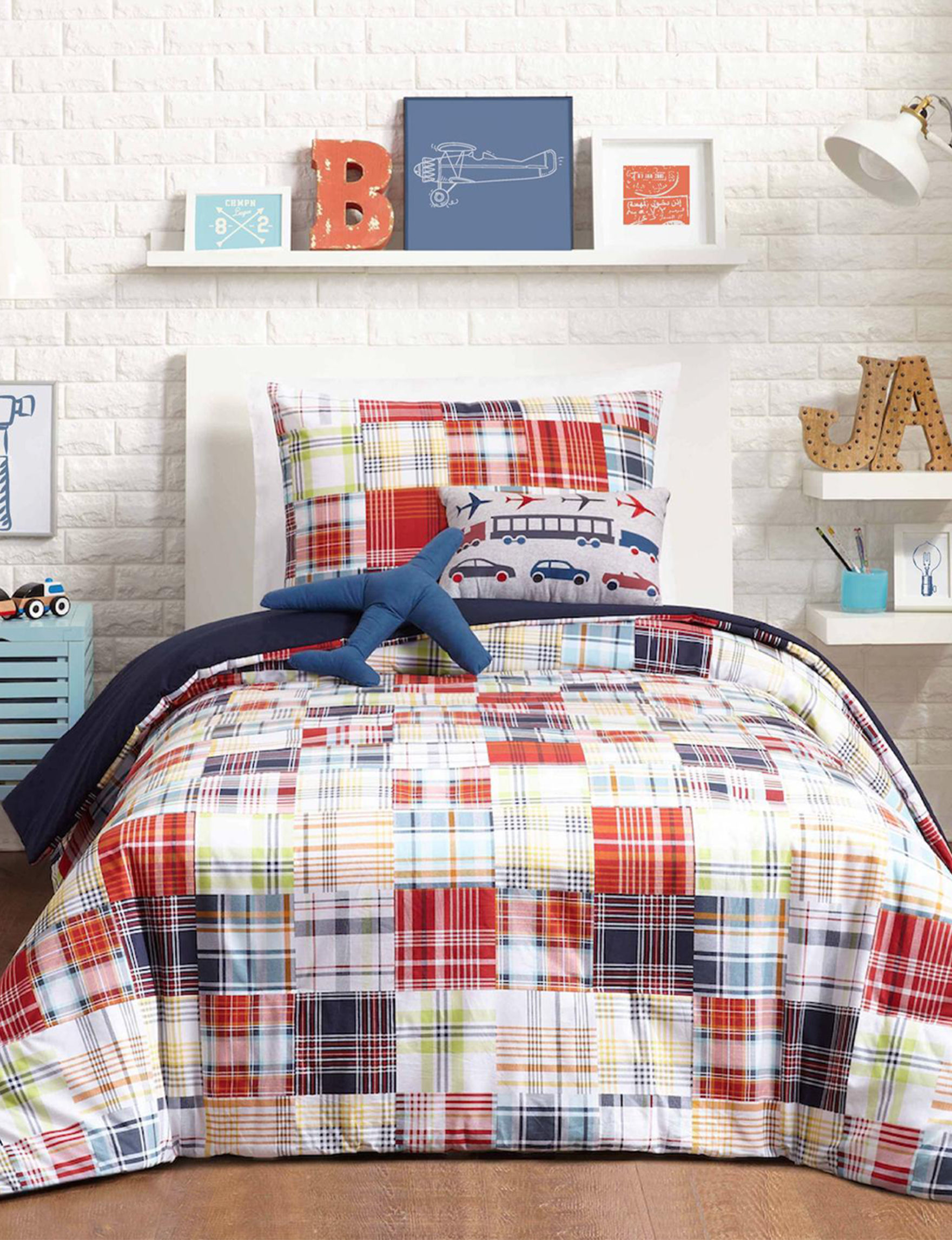 Urban Playground Blue Comforters & Comforter Sets