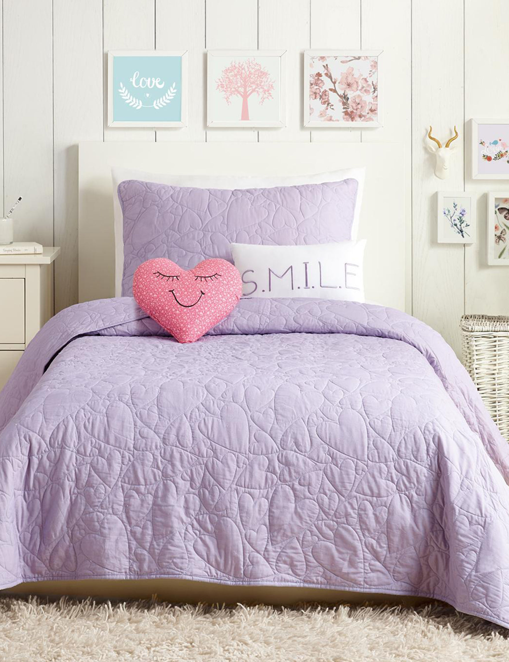 Urban Playground Lilac Quilts & Quilt Sets