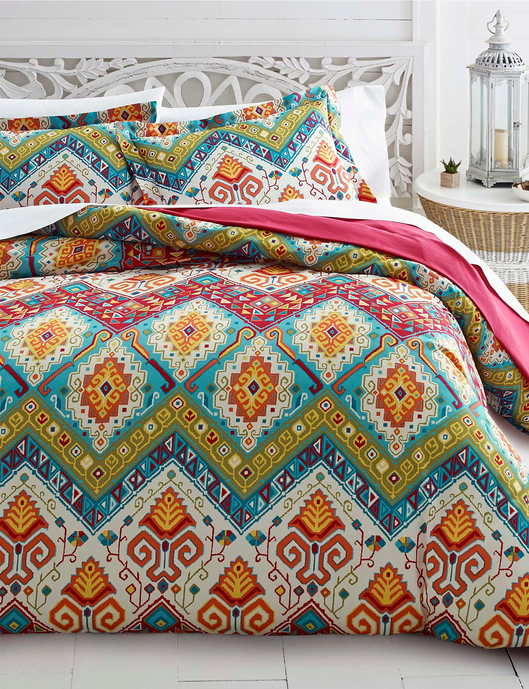 Azalea Red Multi Comforters & Comforter Sets