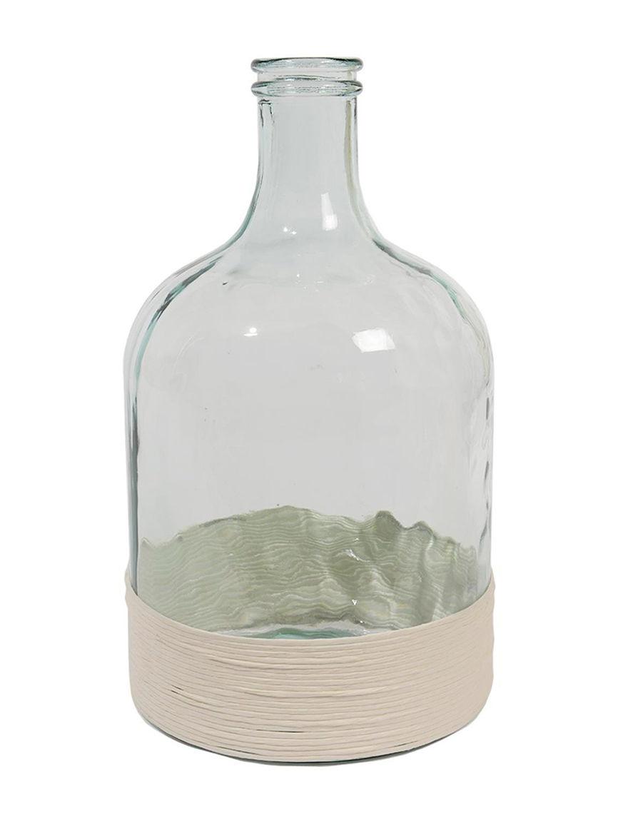 Kaemingk Clear Vases & Decorative Bowls Home Accents