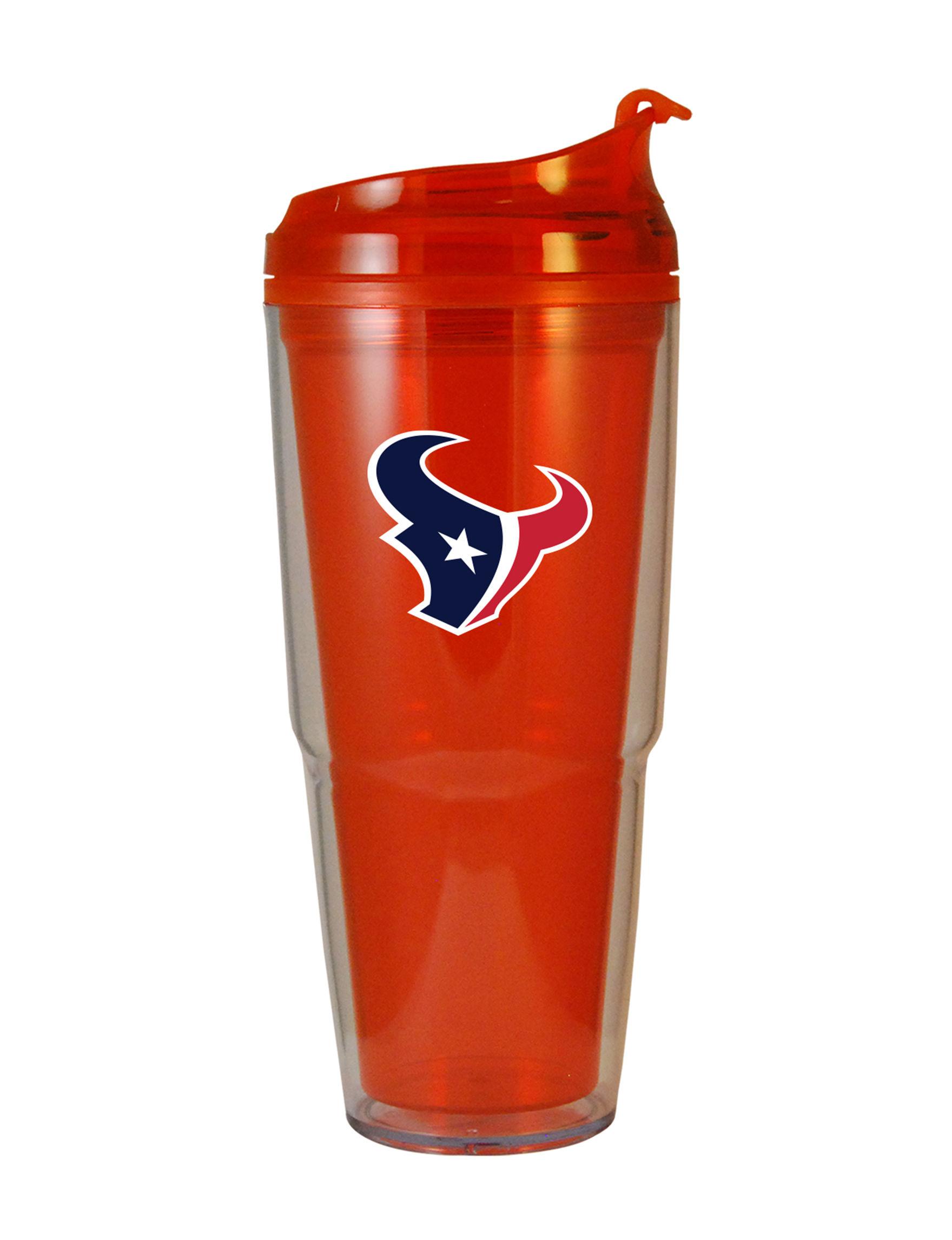 NFL Red / Navy Tumblers Water Bottles Drinkware
