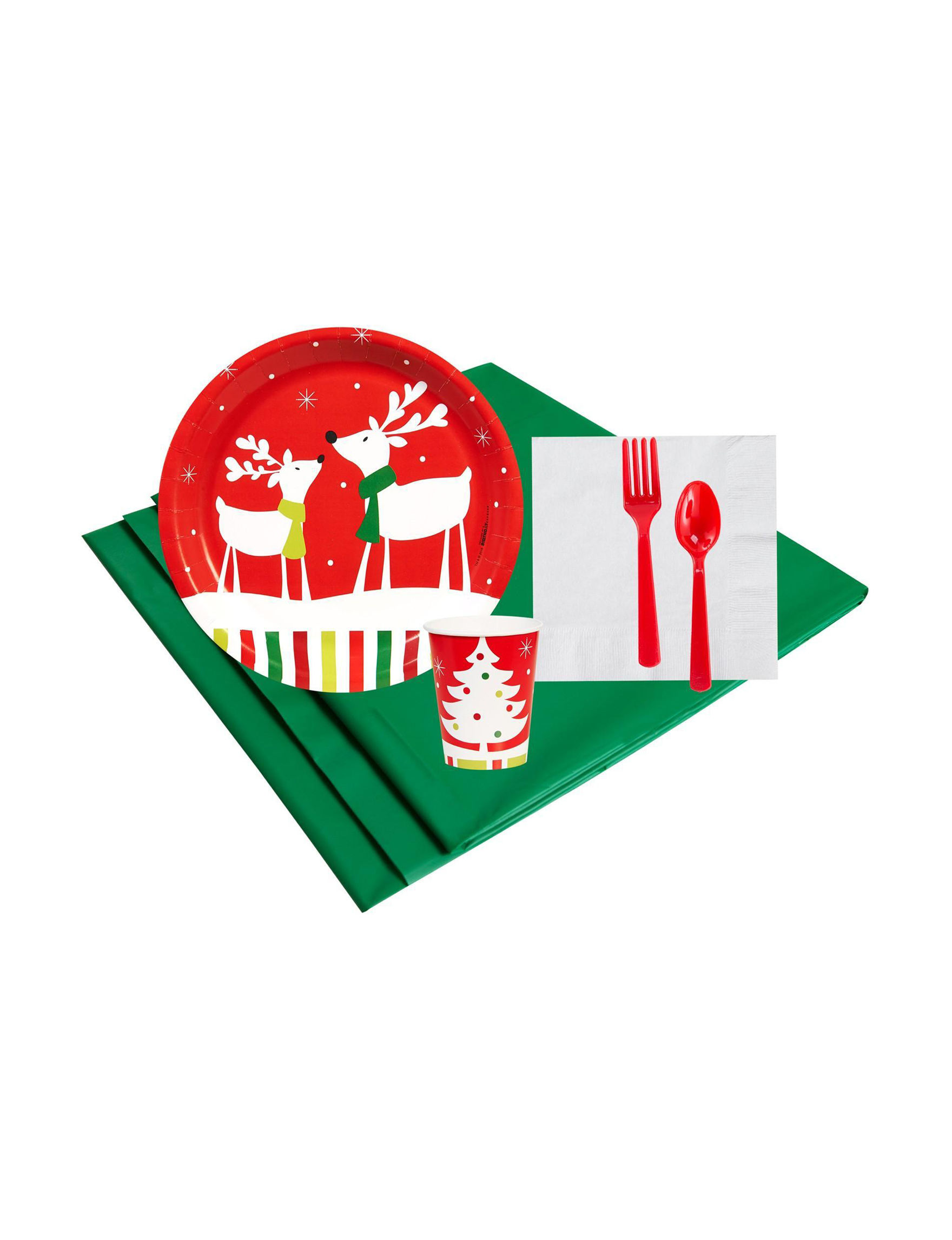 BuySeasons Multi Party Tableware