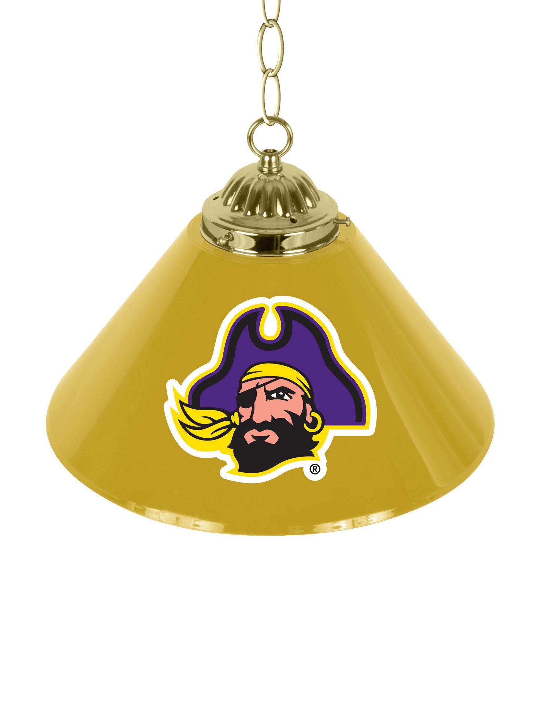 NCAA Purple / Gold Lighting & Lamps