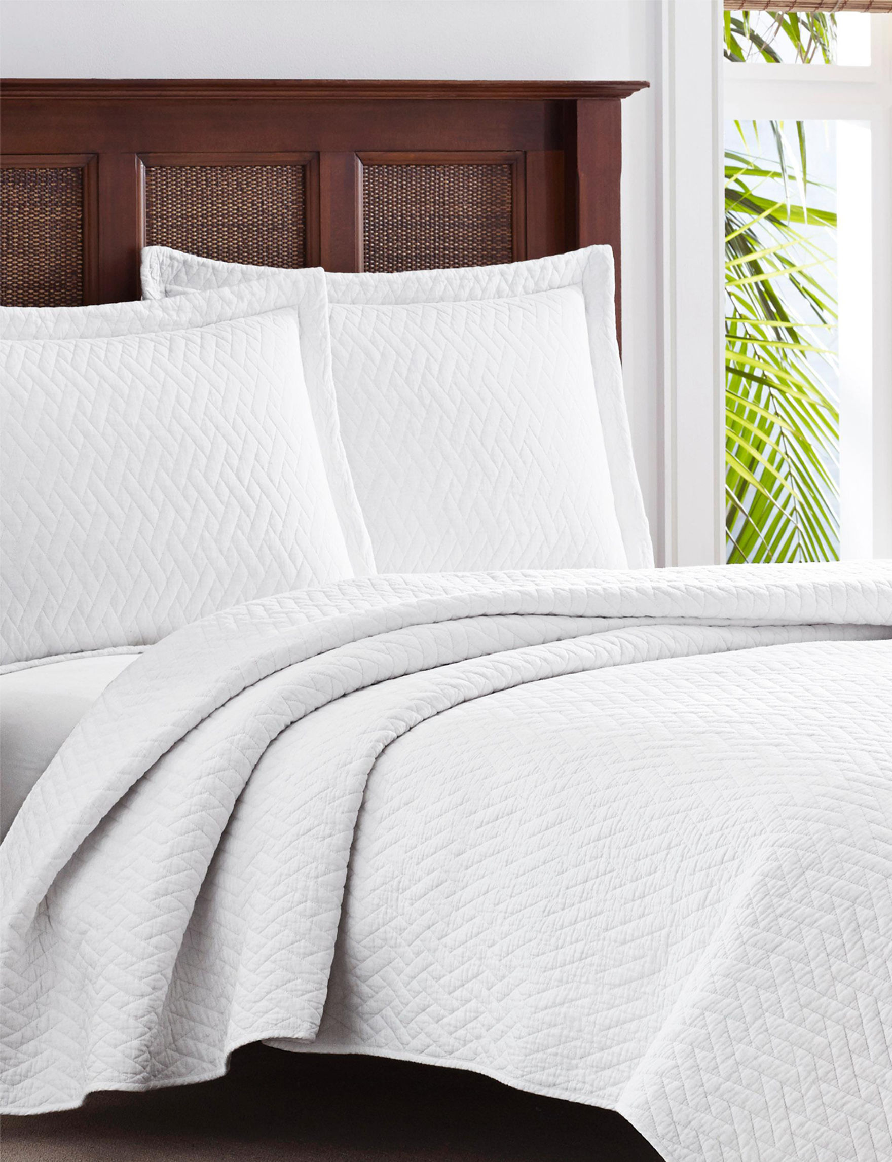 Tommy Bahama White Quilts & Quilt Sets