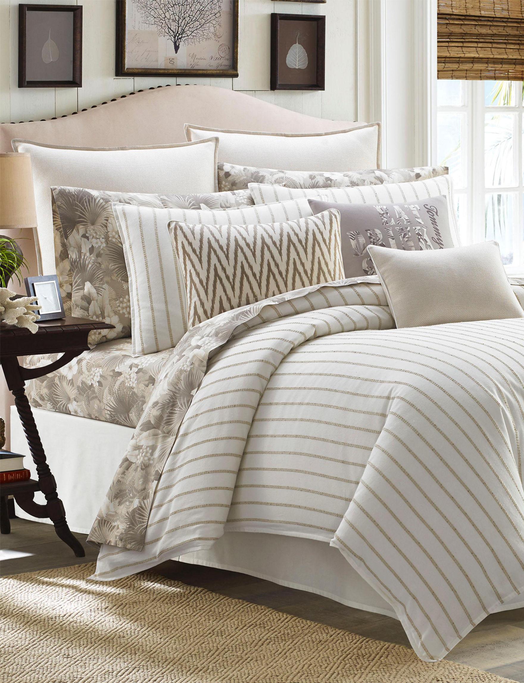 Tommy Bahama Beige Comforters & Comforter Sets