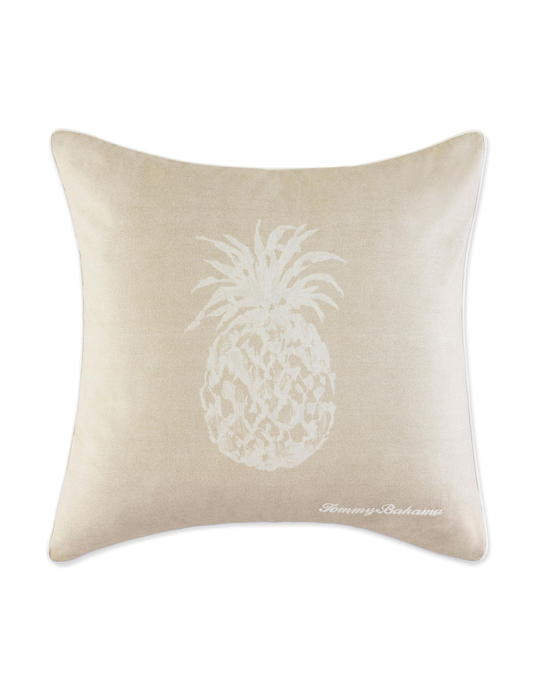 Tommy Bahama Brown Decorative Pillows