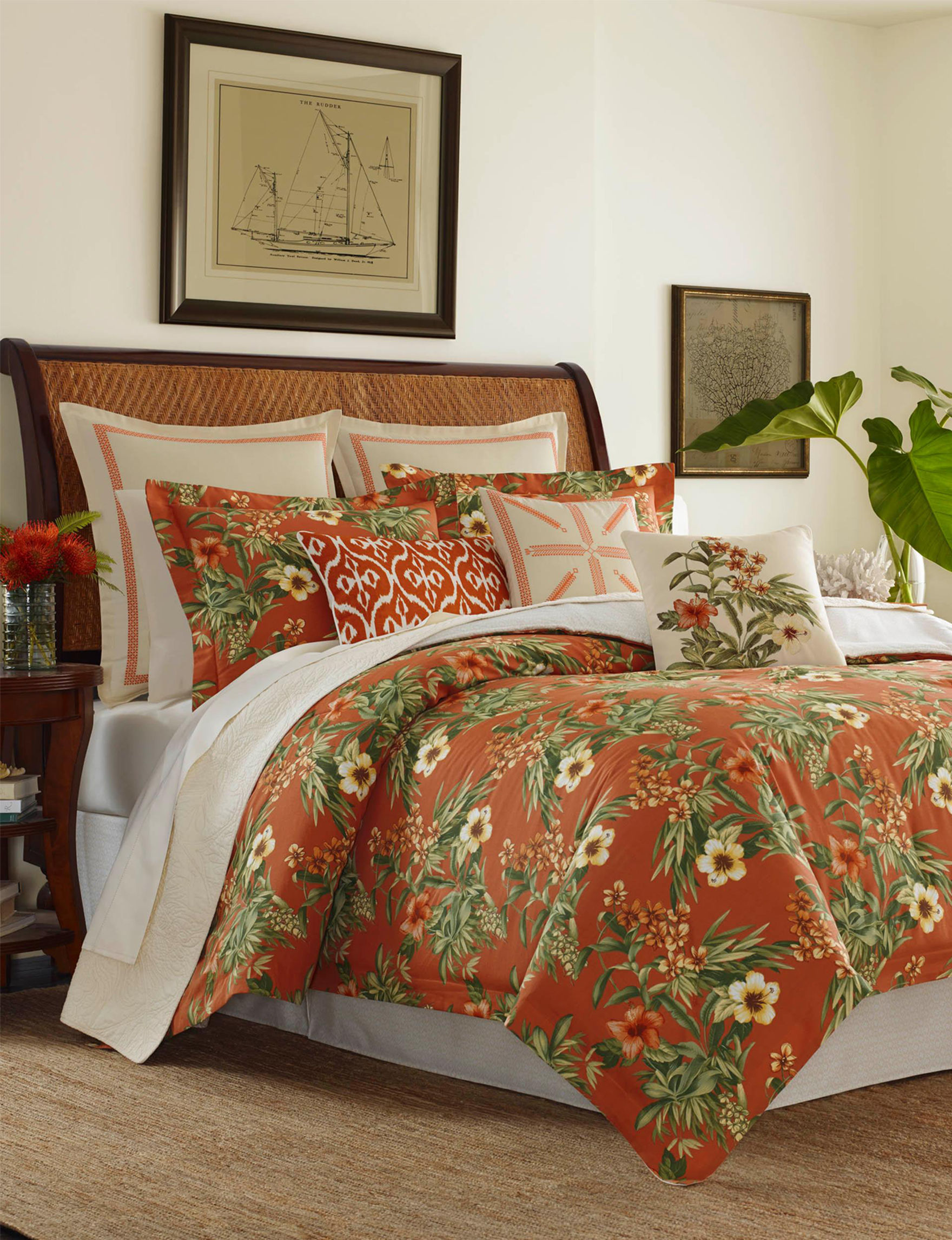 Tommy Bahama Red Comforters & Comforter Sets