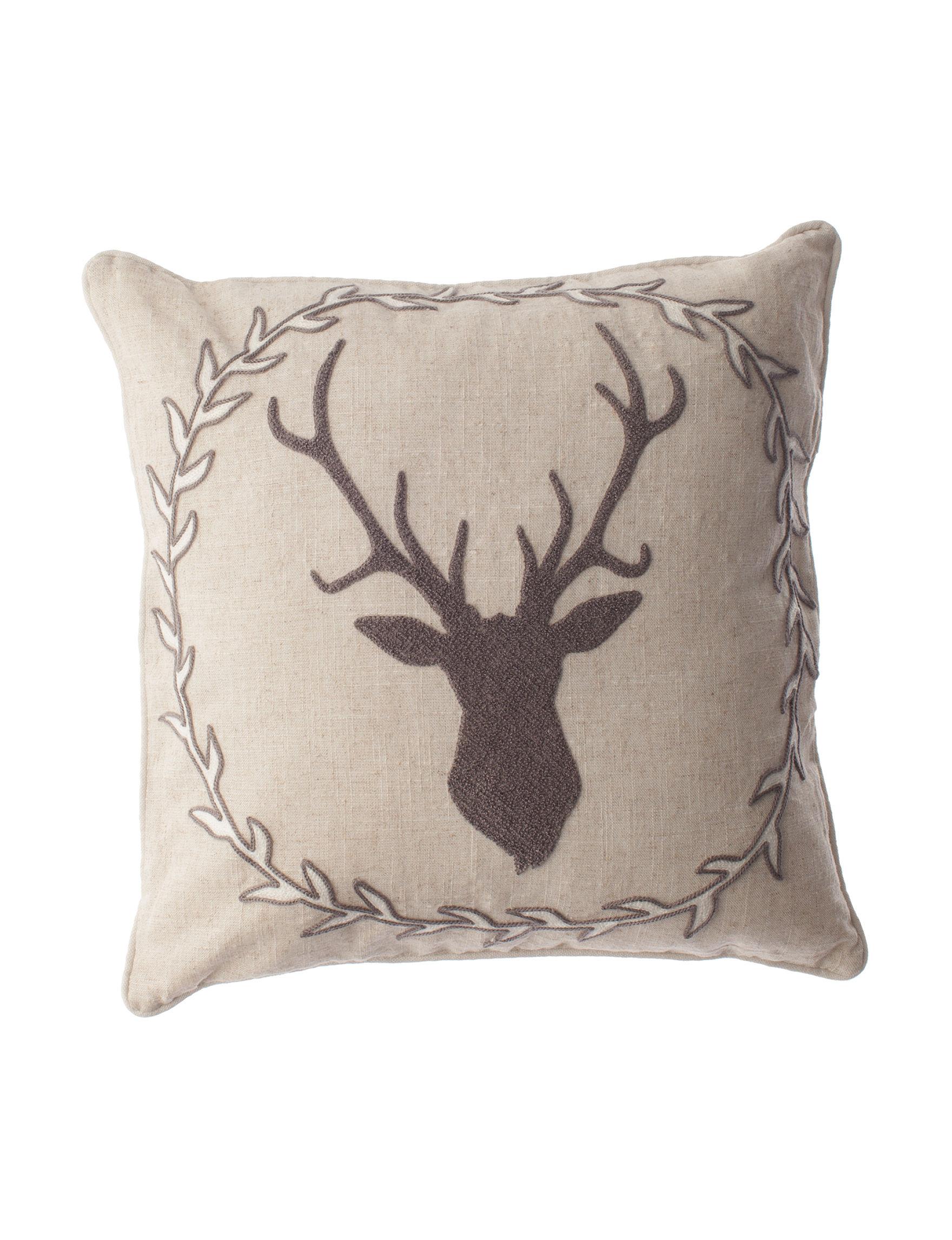 Enchante Grey Decorative Pillows
