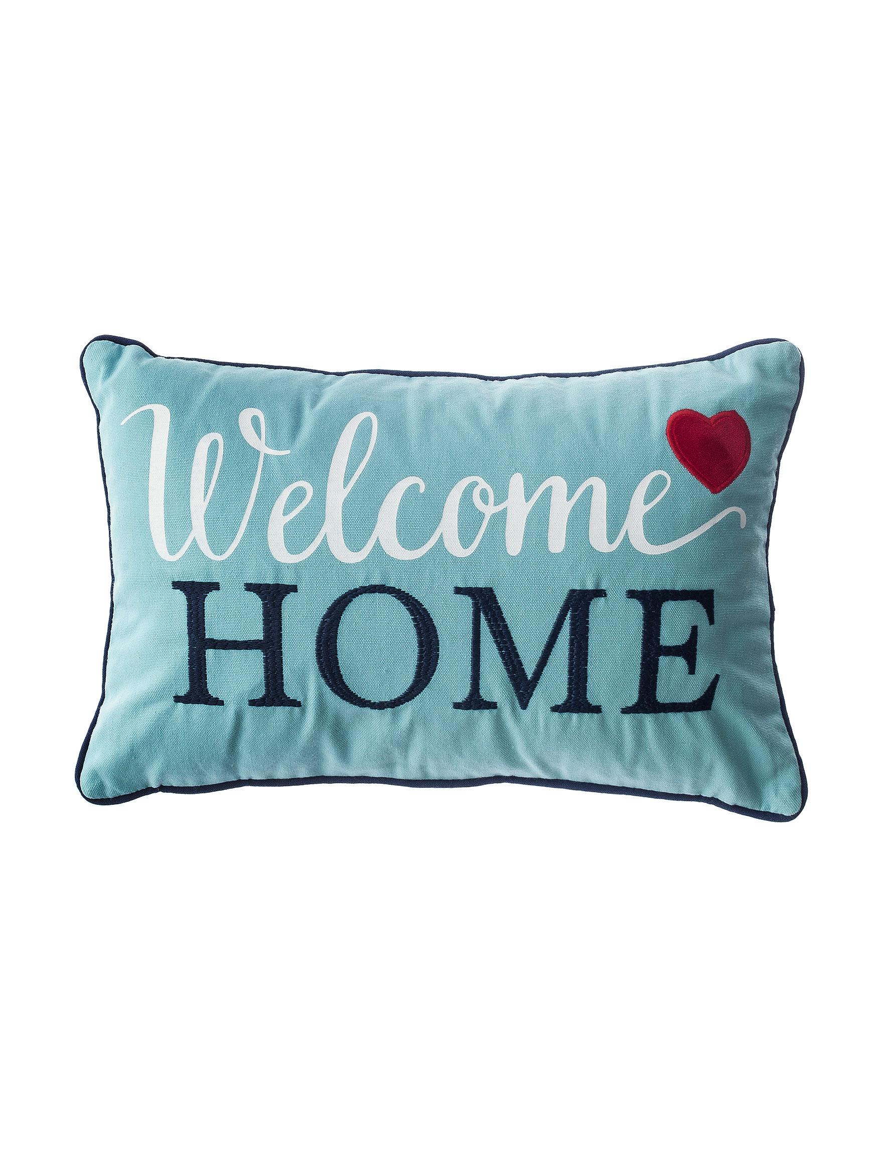 Welcome Home Throw Pillow : Enchante