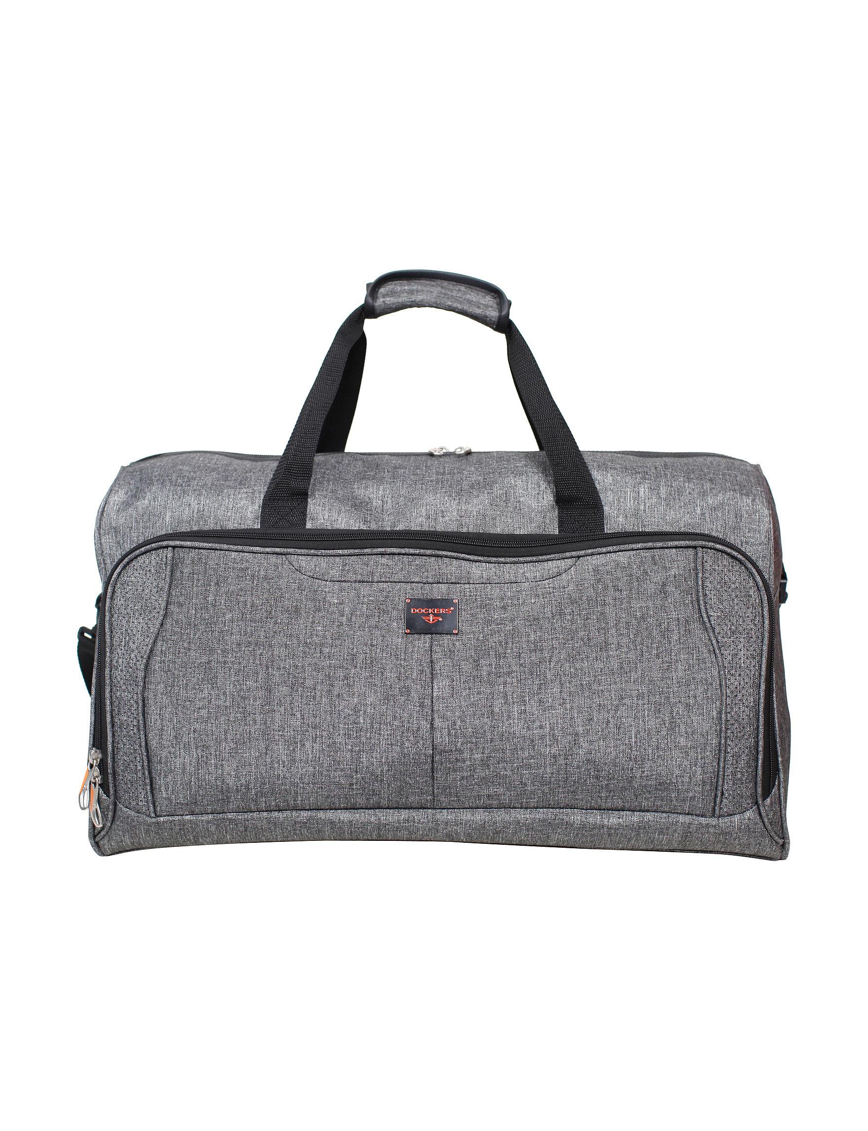 Dockers Charcoal Duffle Bags