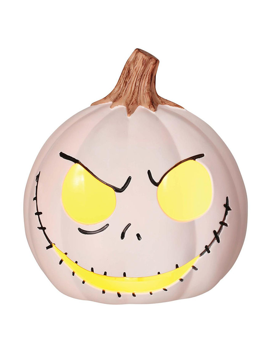 The Nightmare Before Christmas Jack Skellington Light Up Pumpkin