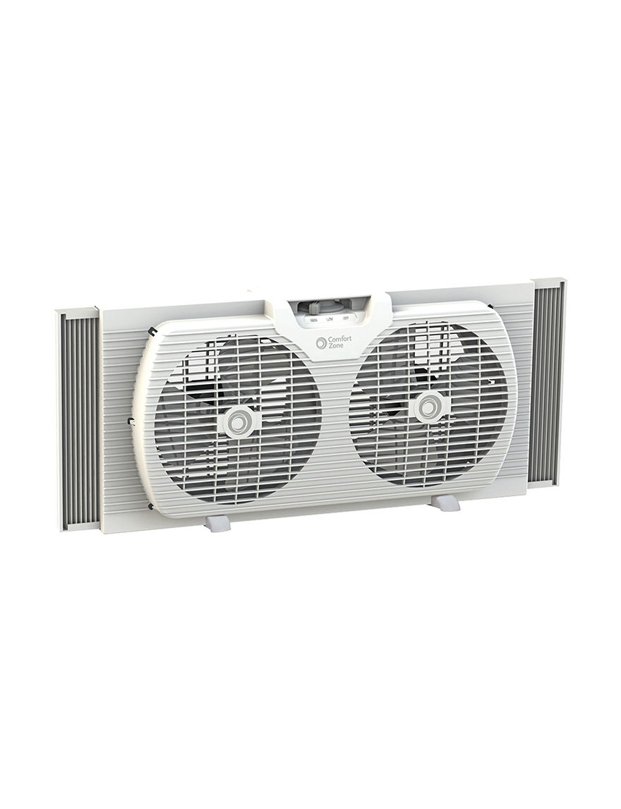 Comfort Zone White Heating & Cooling