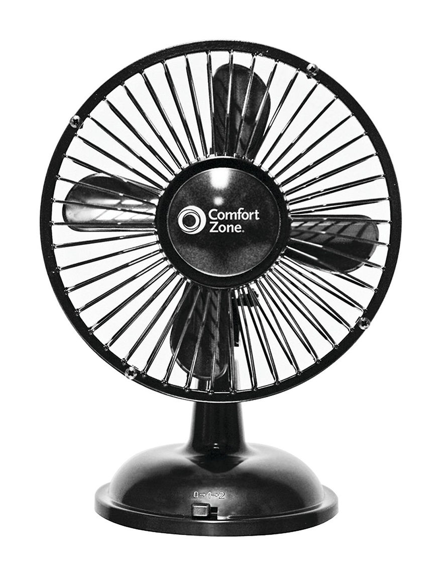 Comfort Zone Oscillating Desk Fan Stage Stores