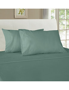 Grace Home Fashions Blue Grey Sheets & Pillowcases