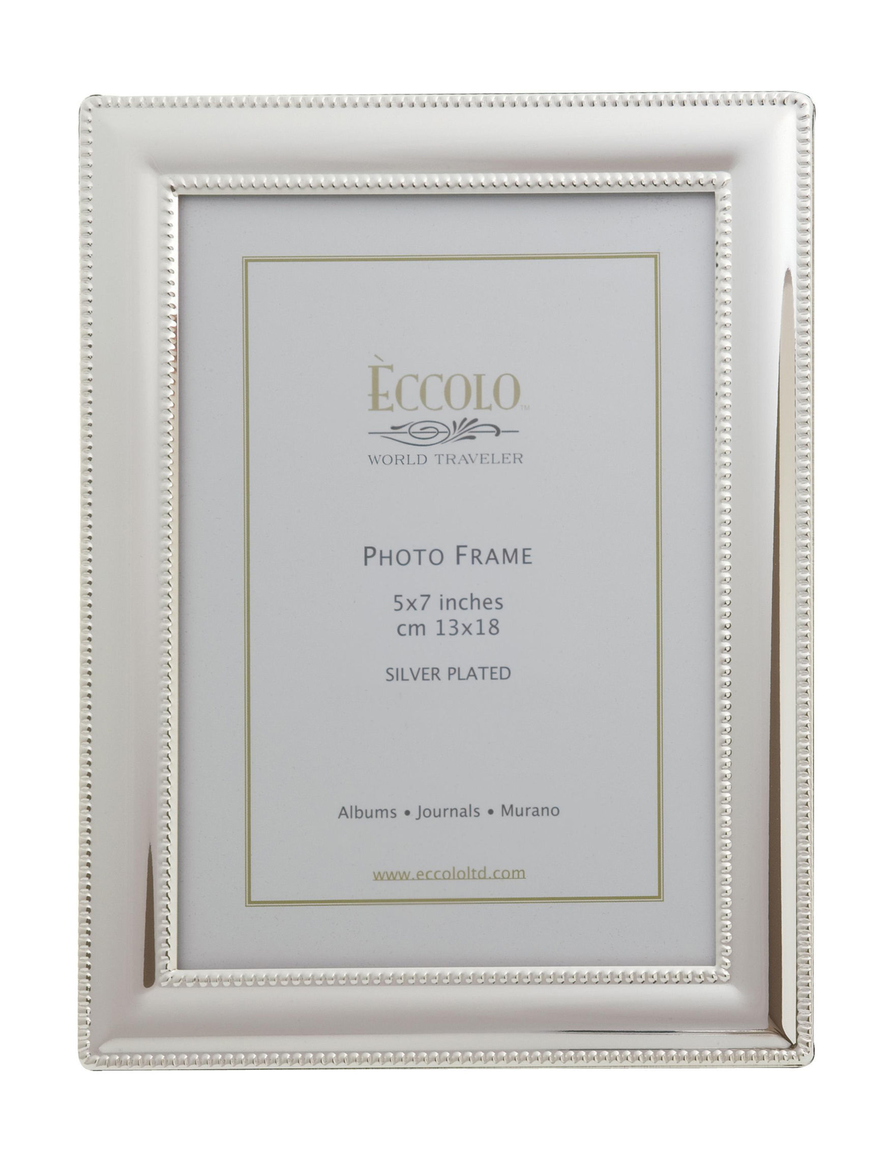 Eccolo Silver Frames & Shadow Boxes Home Accents