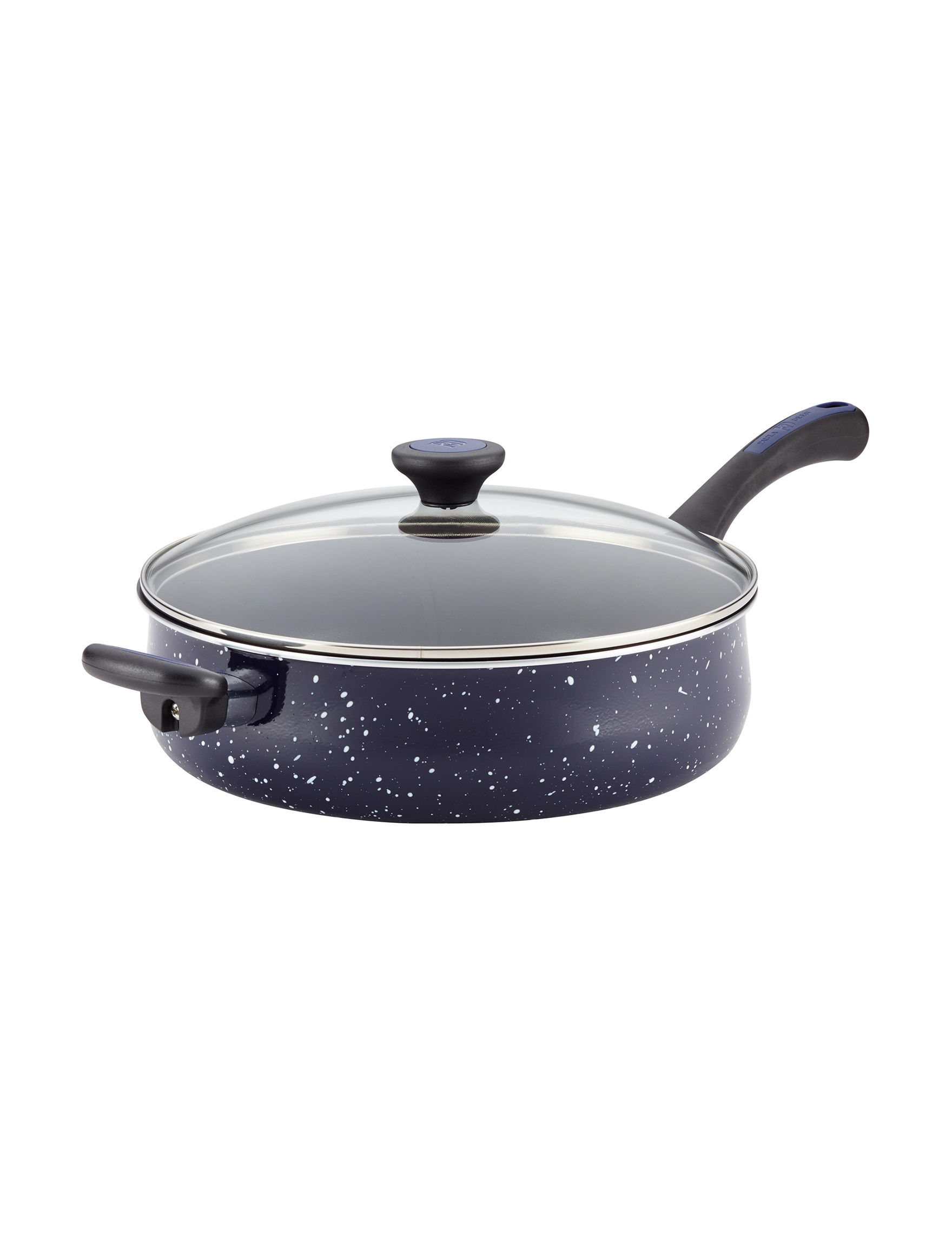 Paula Deen Dark Blue Pots & Dutch Ovens Cookware