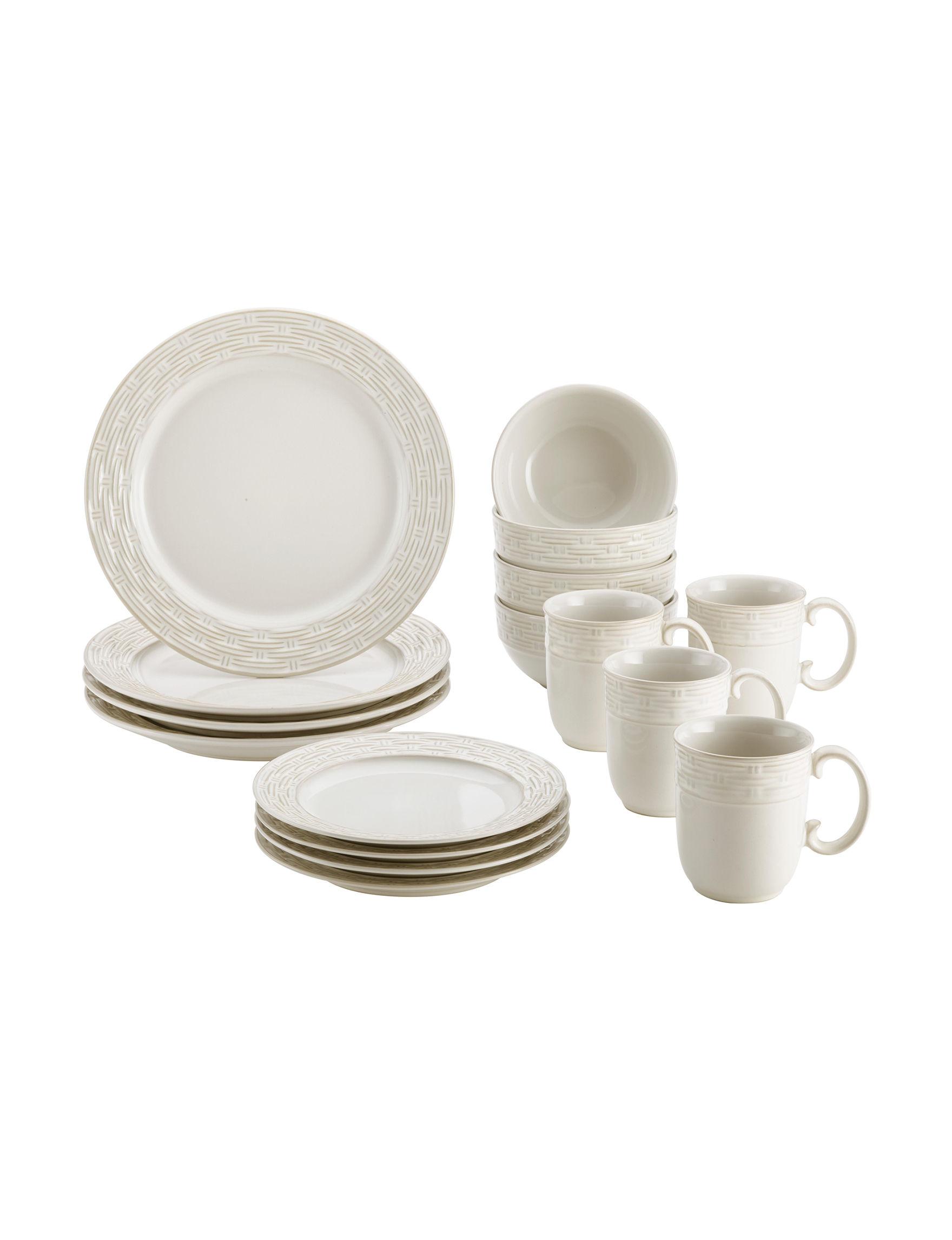 Paula Deen Cream Dinnerware Sets Dinnerware