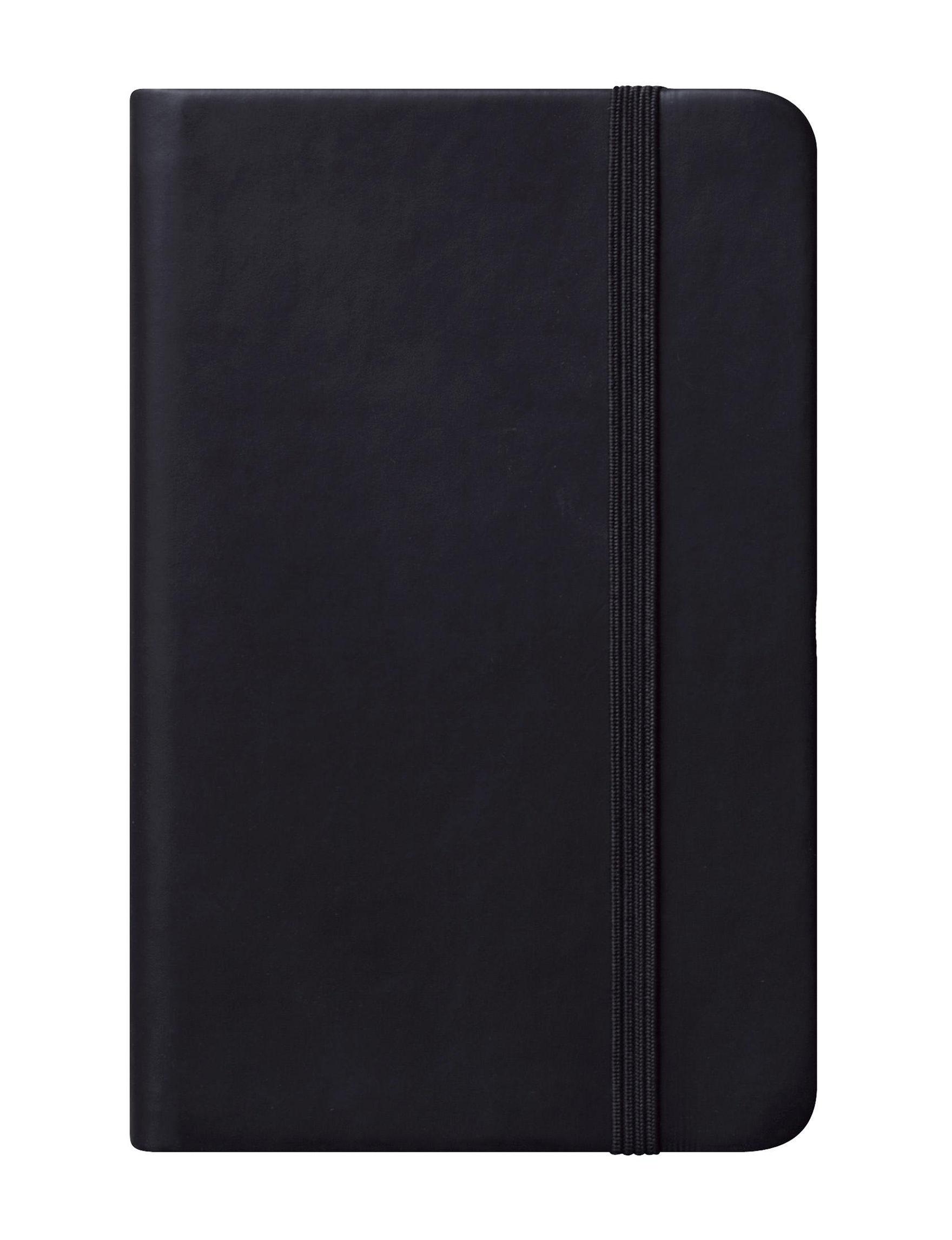 Eccolo Black Journals & Notepads School & Office Supplies