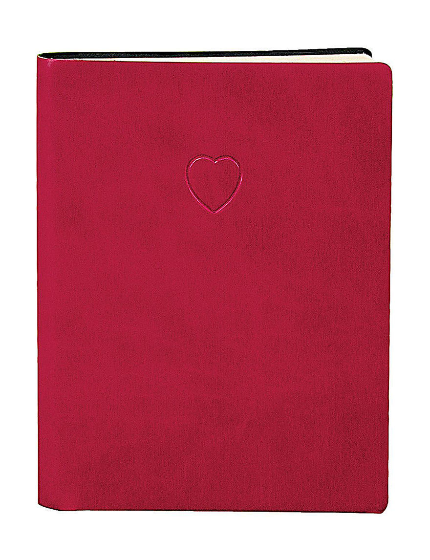 Eccolo Red Journals & Notepads School & Office Supplies