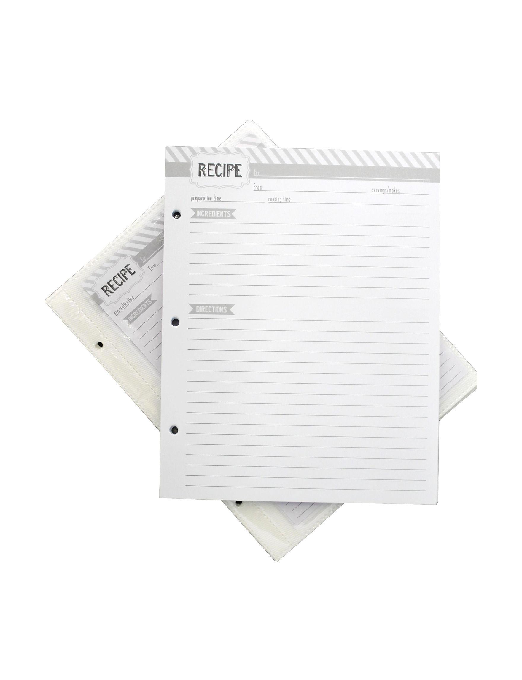 Eccolo White Accessories School & Office Supplies