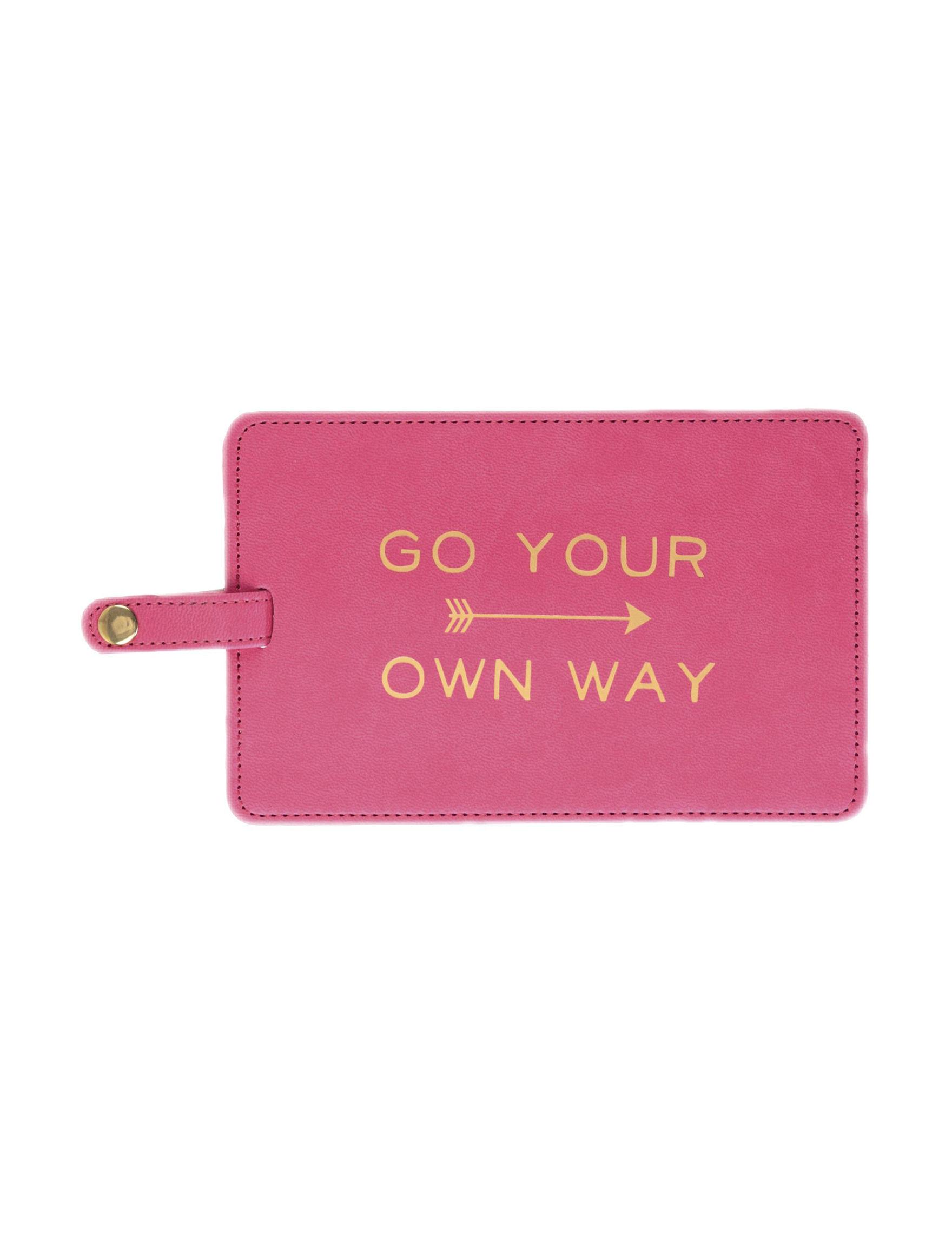 Eccolo Pink Travel Accessories
