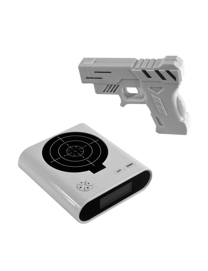 Trademark Games Black/ White Desk Clocks Home Accents
