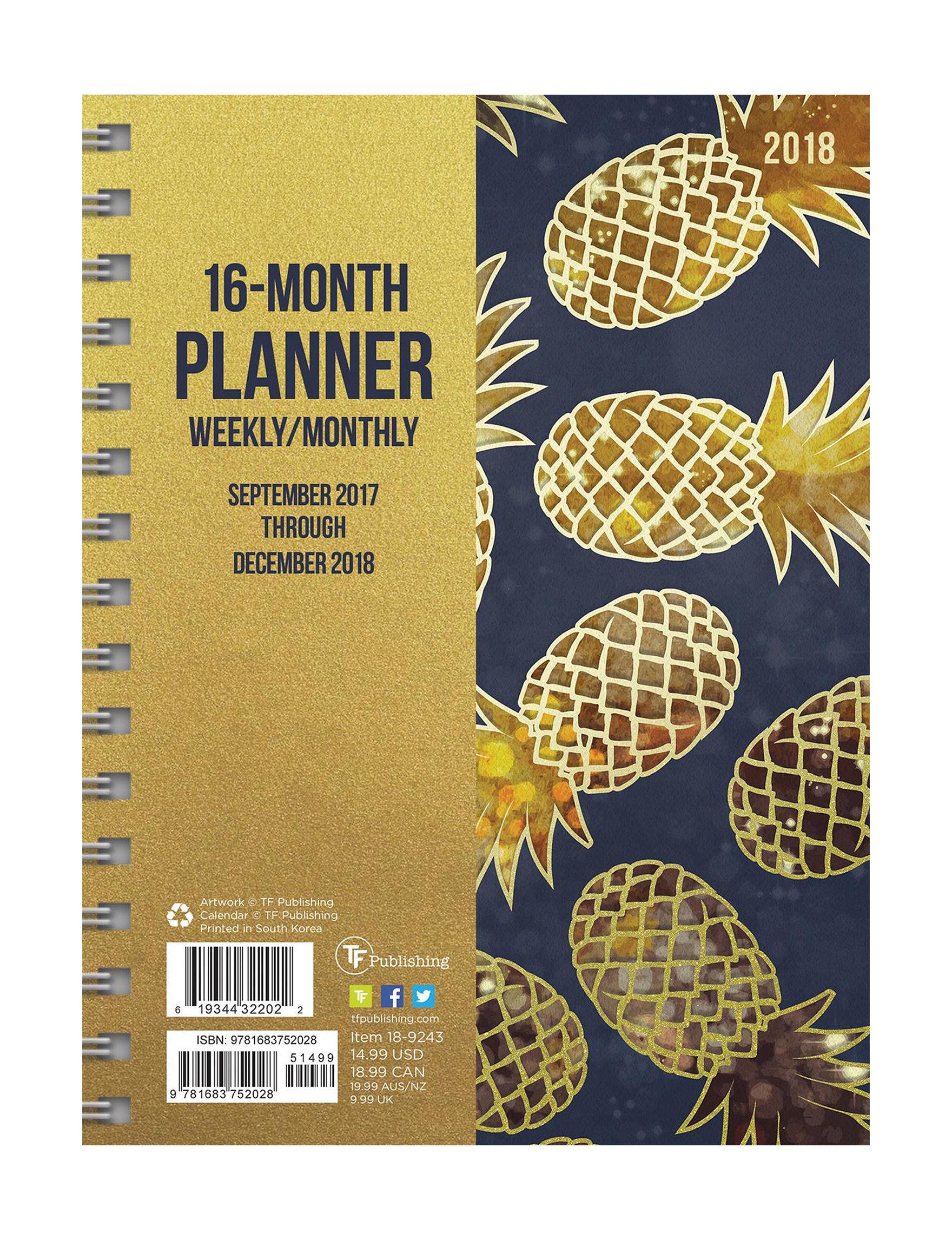 TFI Publishing Multi Calendars & Planners School & Office Supplies