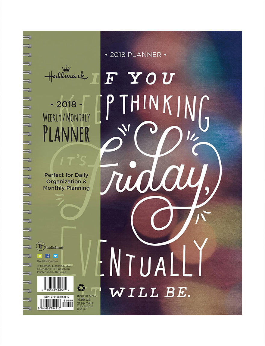 TFI Publishing Multi Calendars & Planners School & Office Supplies