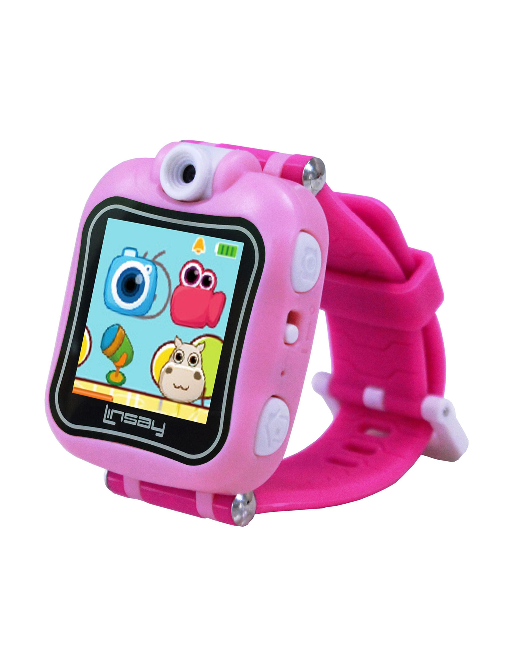 Linsay Pink Tech Accessories