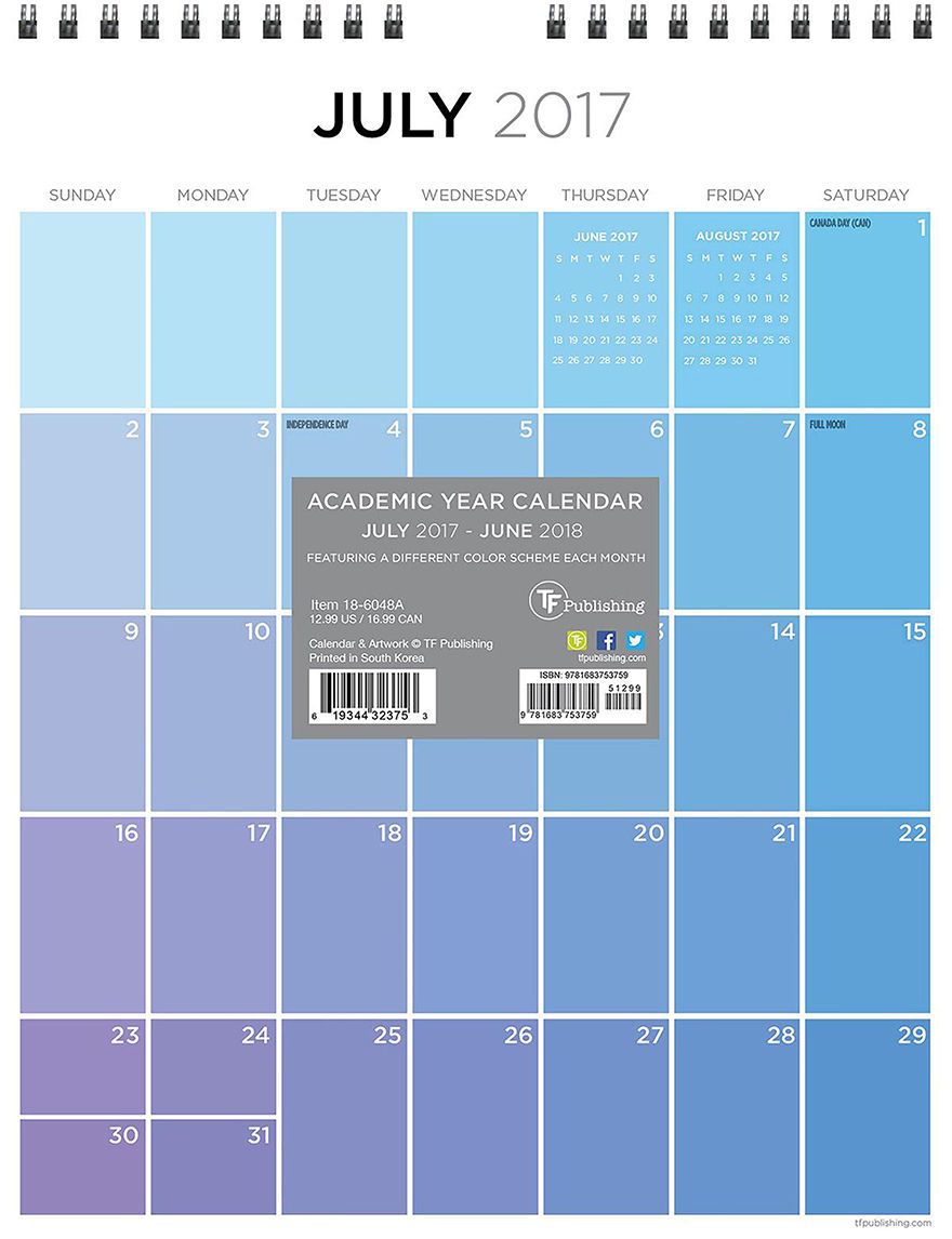 TFI Publishing White Multi Calendars & Planners School & Office Supplies