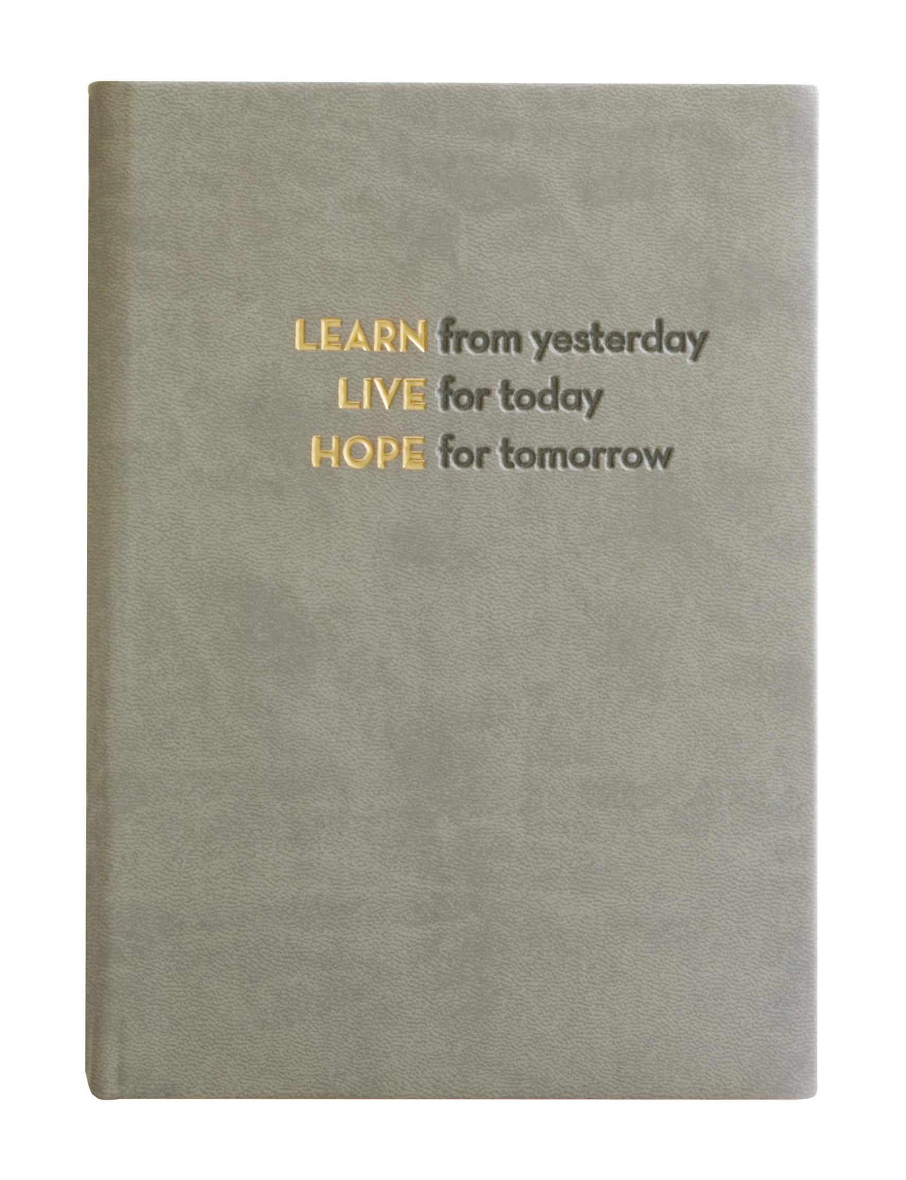 Eccolo Grey Journals & Notepads School & Office Supplies