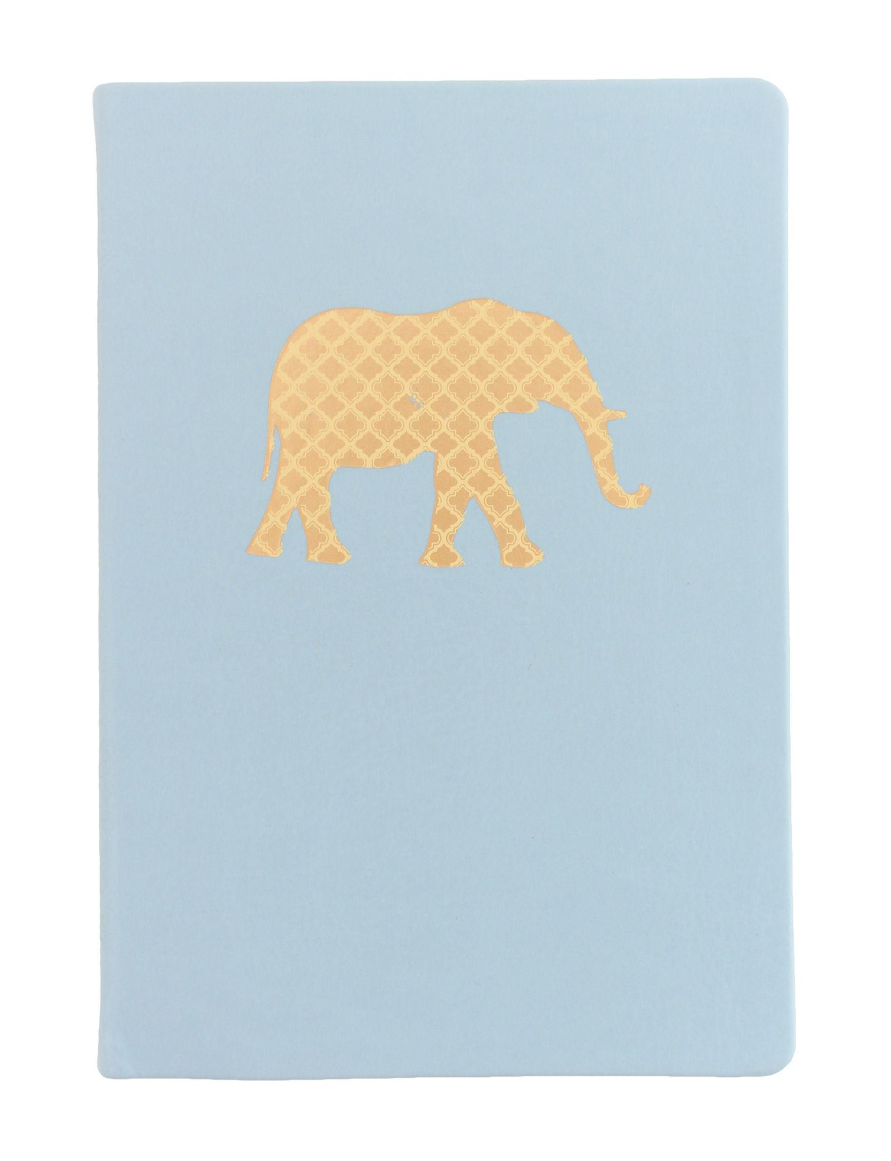 Eccolo Light Blue Journals & Notepads School & Office Supplies