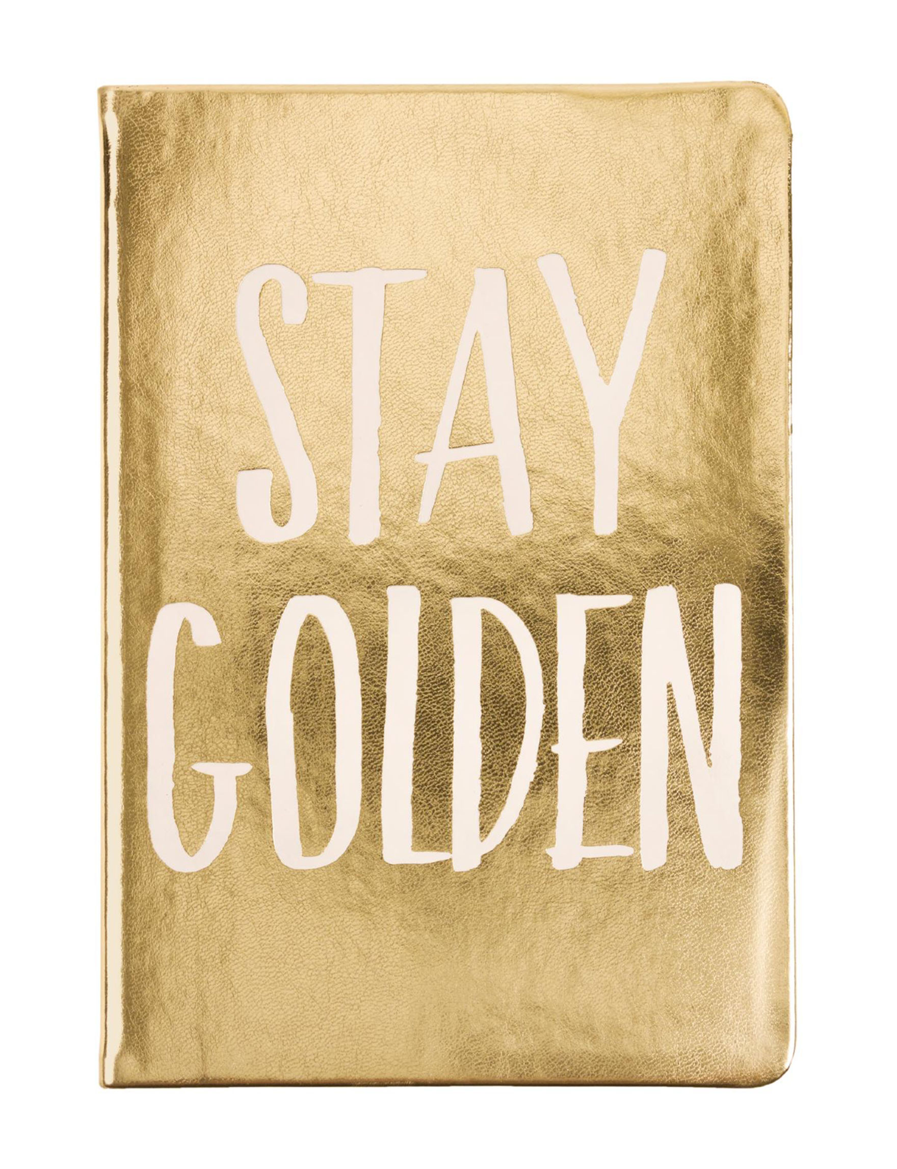 Eccolo Gold Journals & Notepads School & Office Supplies