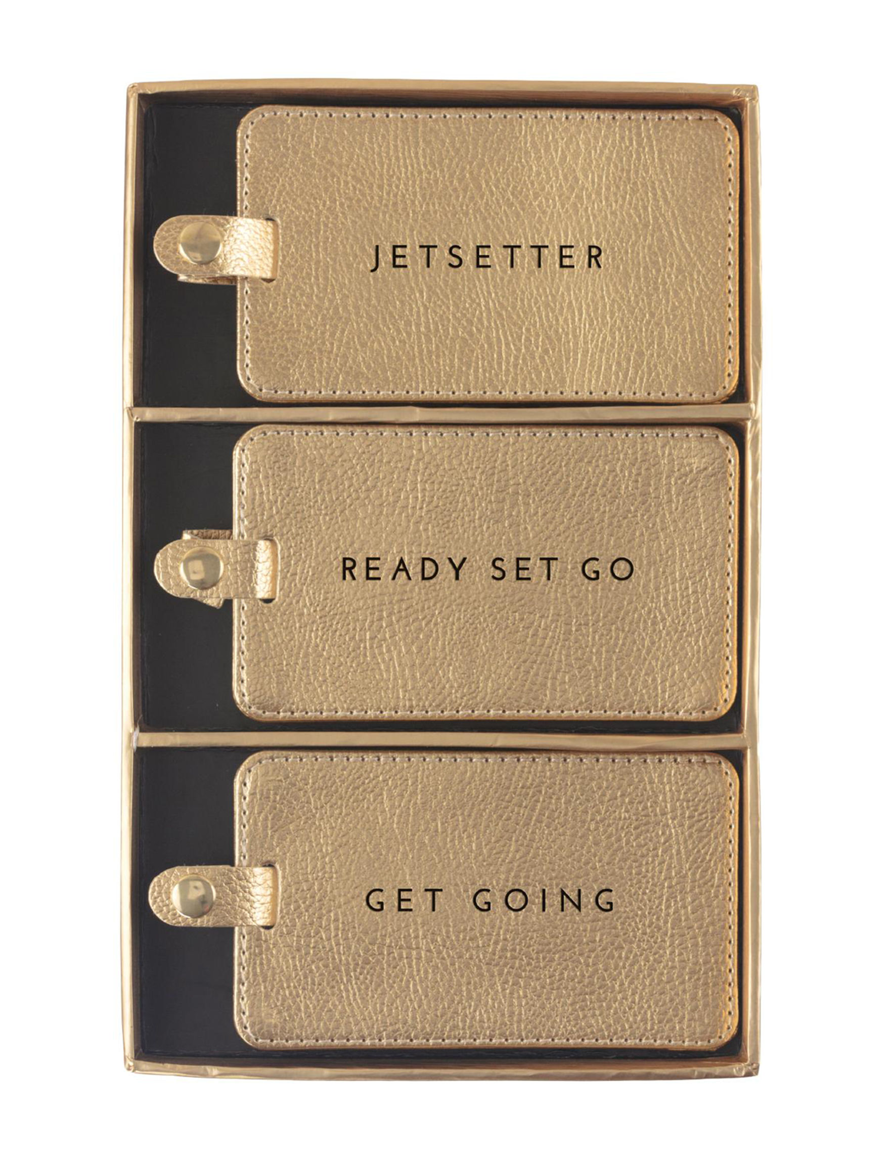 Eccolo Gold Accessories Carriers & Totes Home Accents