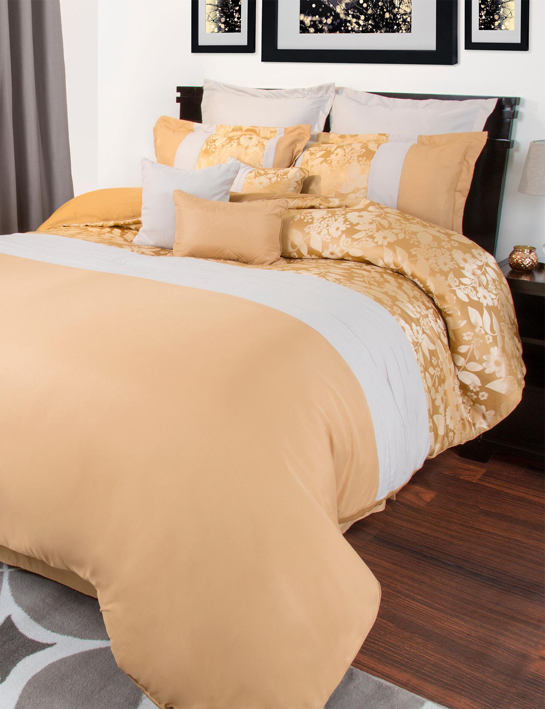 Lavish Home Yellow Comforters & Comforter Sets