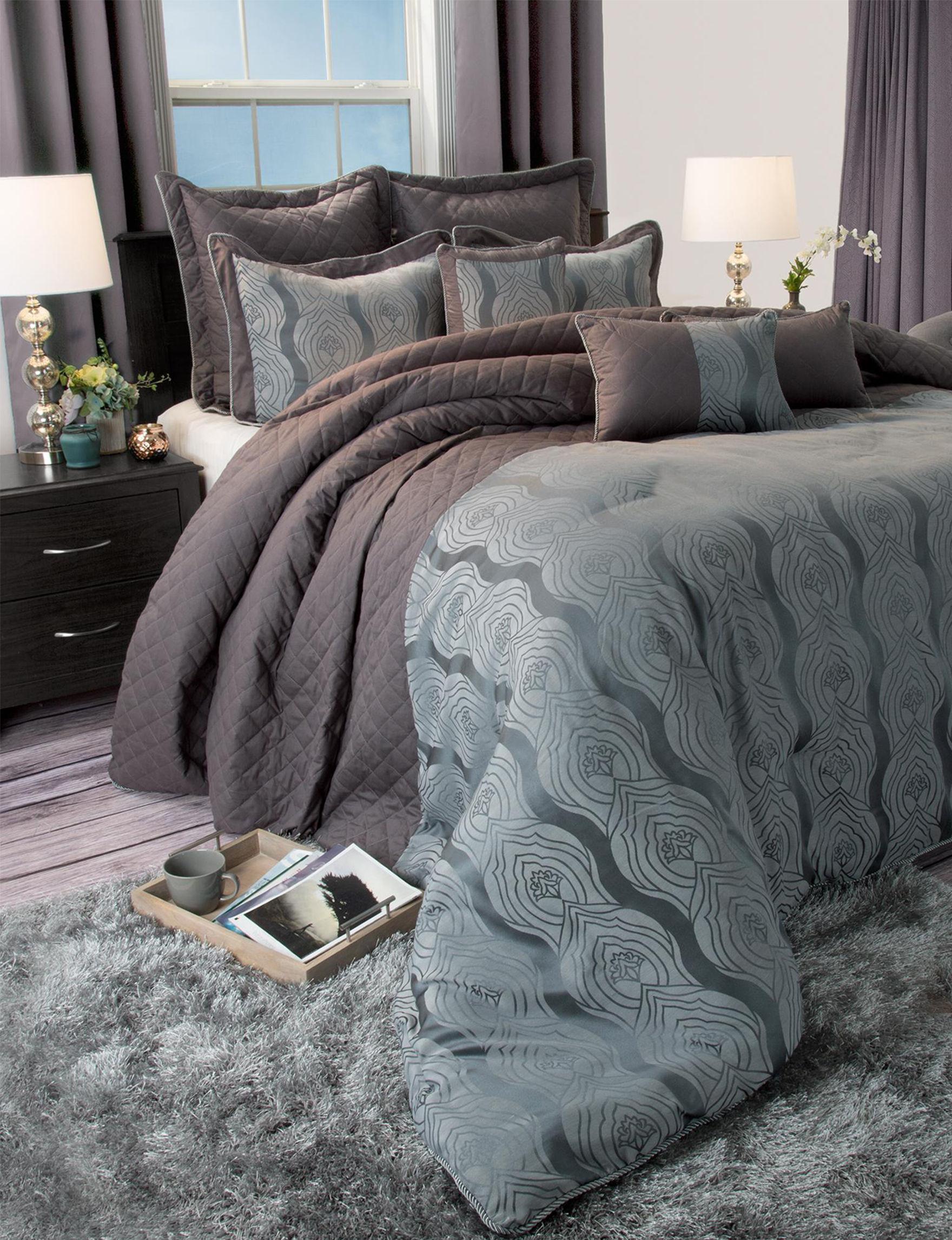 Lavish Home Grey Comforters & Comforter Sets