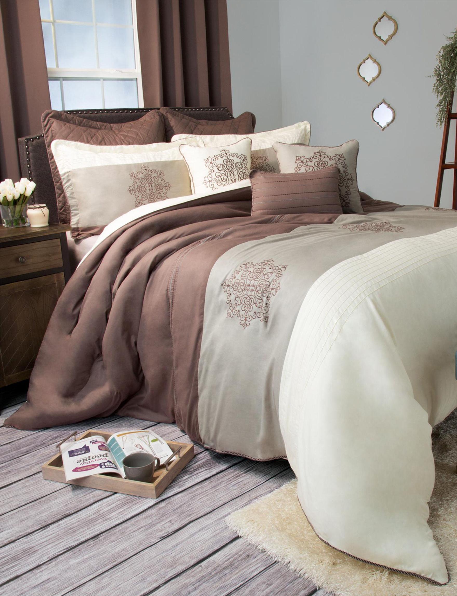 Lavish Home Brown Comforters & Comforter Sets