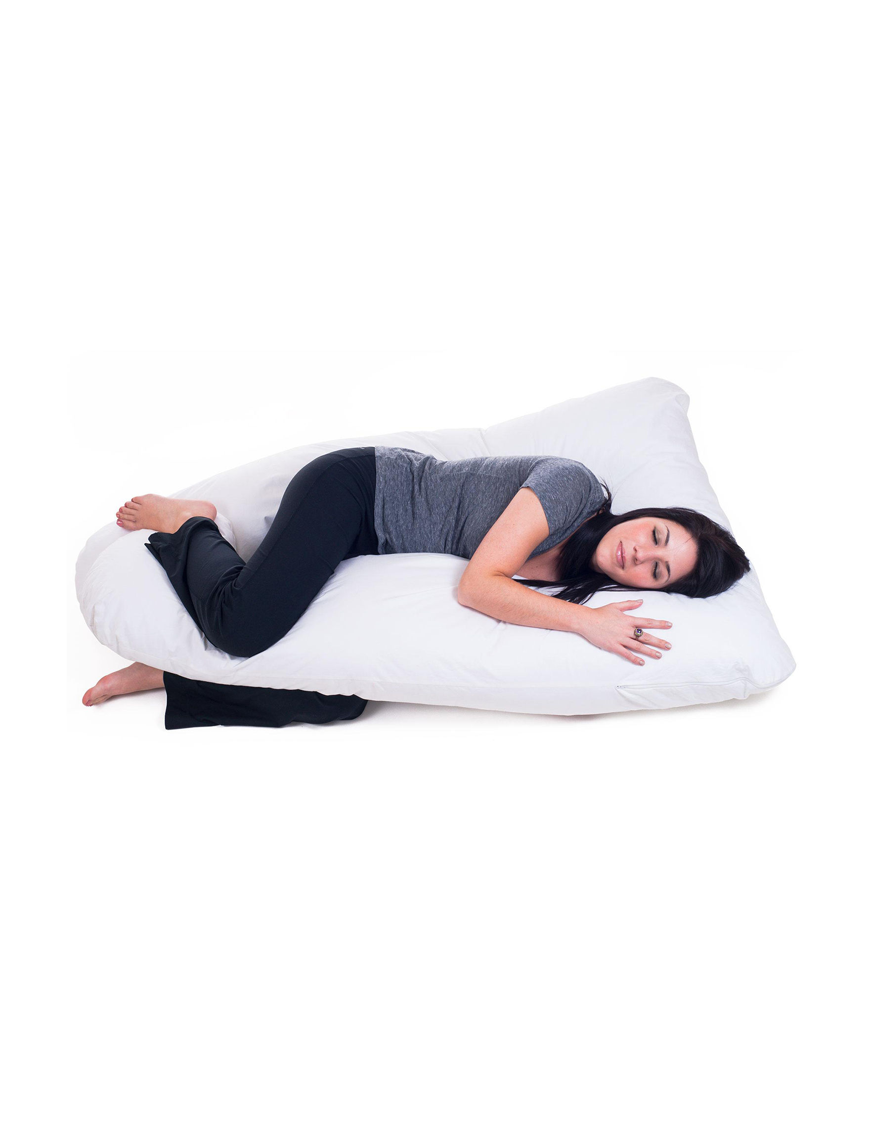 Remedy White Bed Pillows