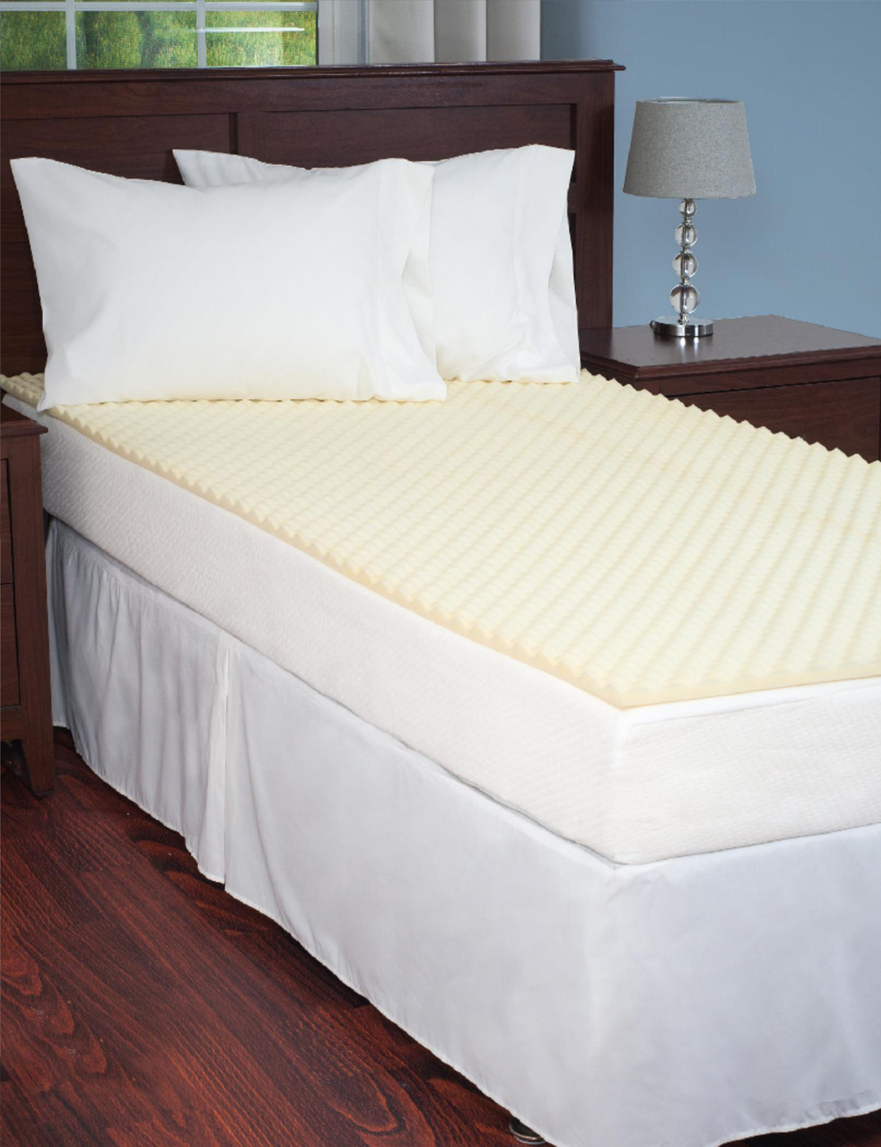 Everyday Home White Mattress Pads & Toppers