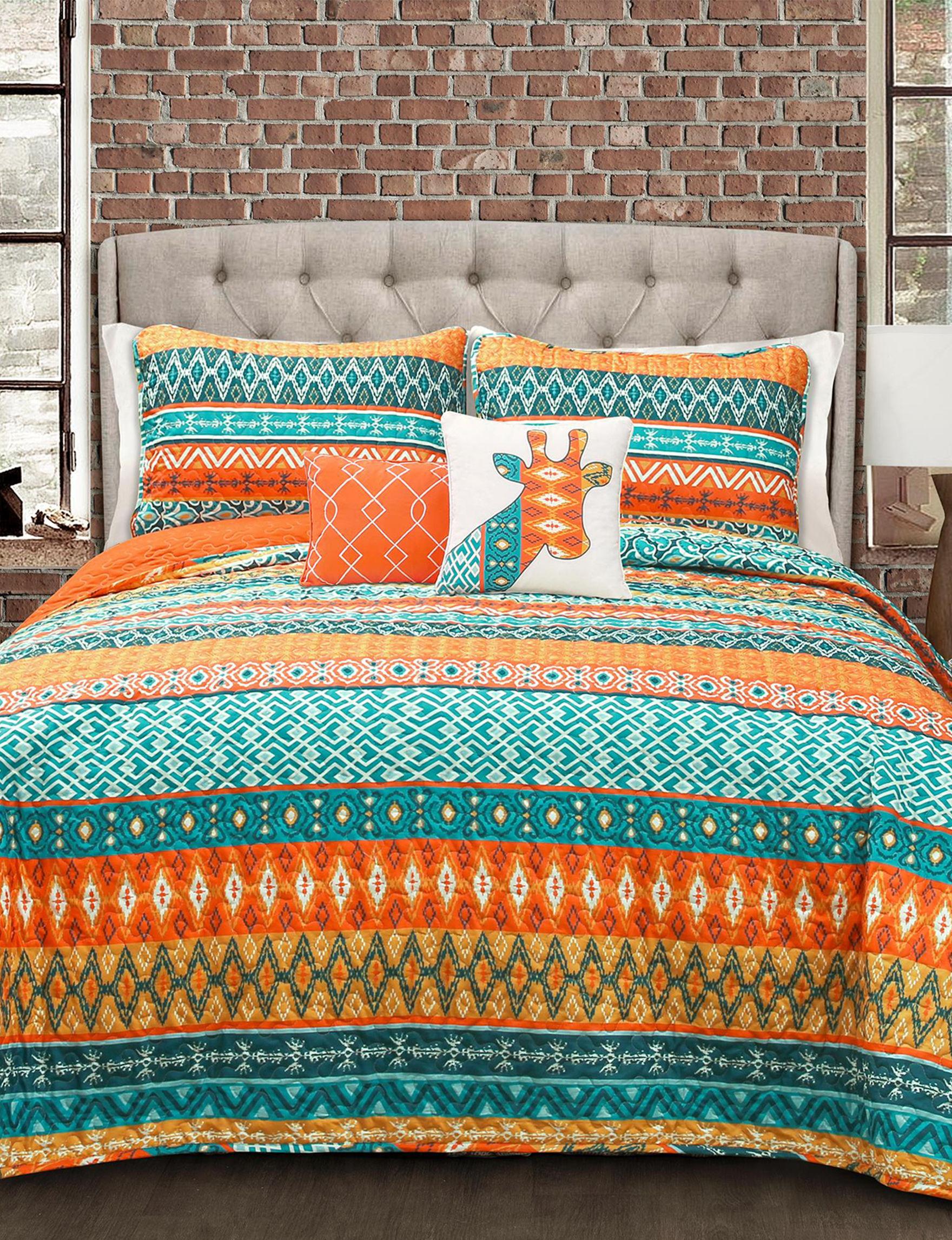 Lush Decor Turqouise Quilts & Quilt Sets