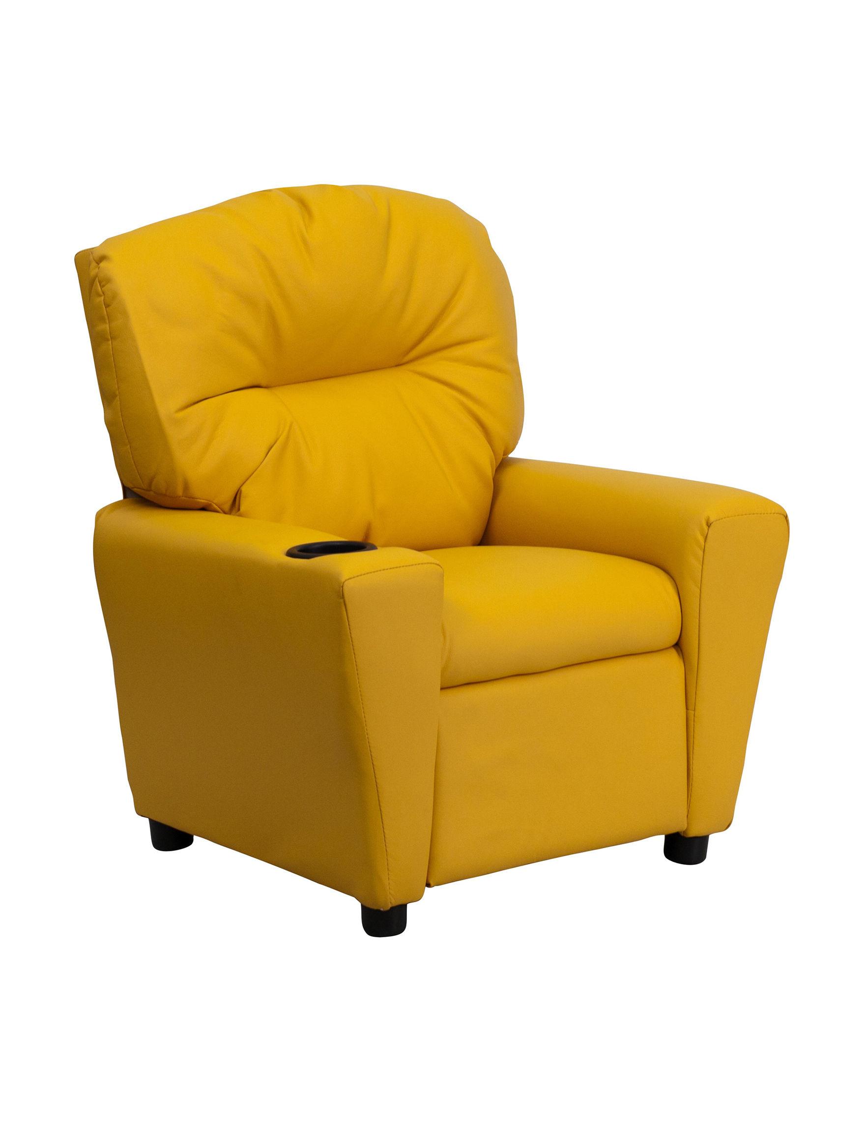 Flash Furniture Yellow Bedroom Furniture Living Room Furniture