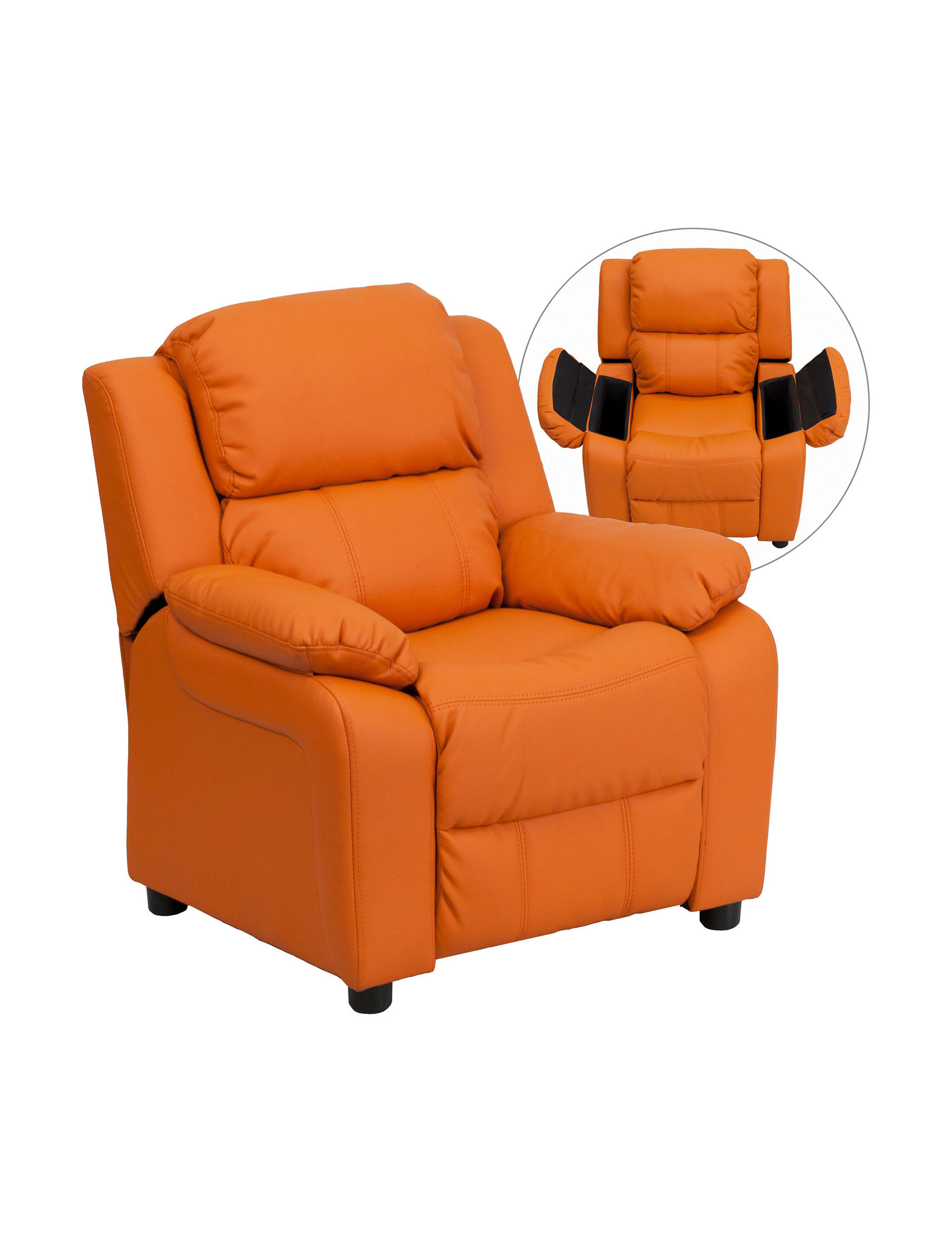 Flash Furniture Orange Bedroom Furniture Living Room Furniture