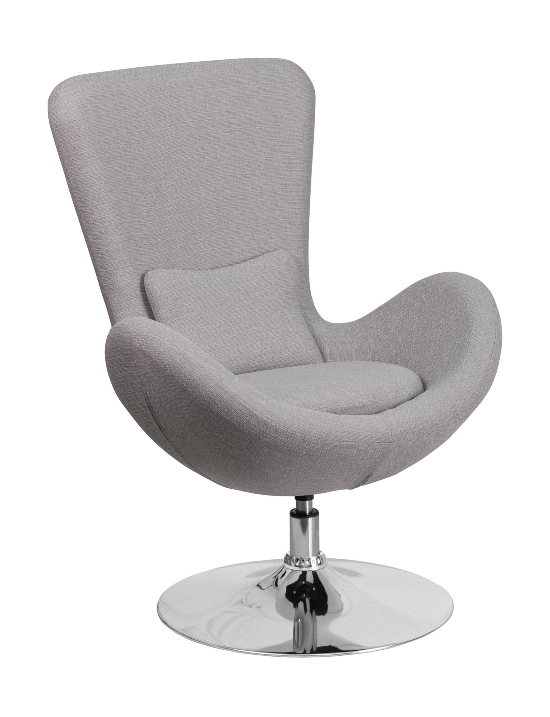 Flash Furniture Light Grey Accent Chairs Living Room Furniture