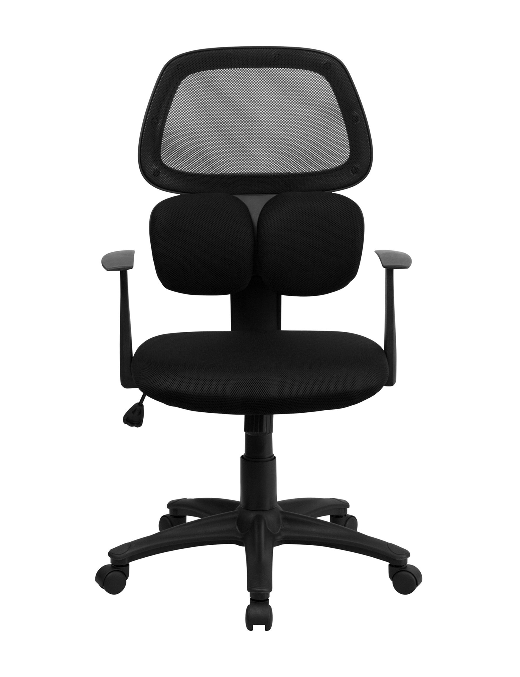 Flash Furniture Black Desk Chairs Home Office Furniture