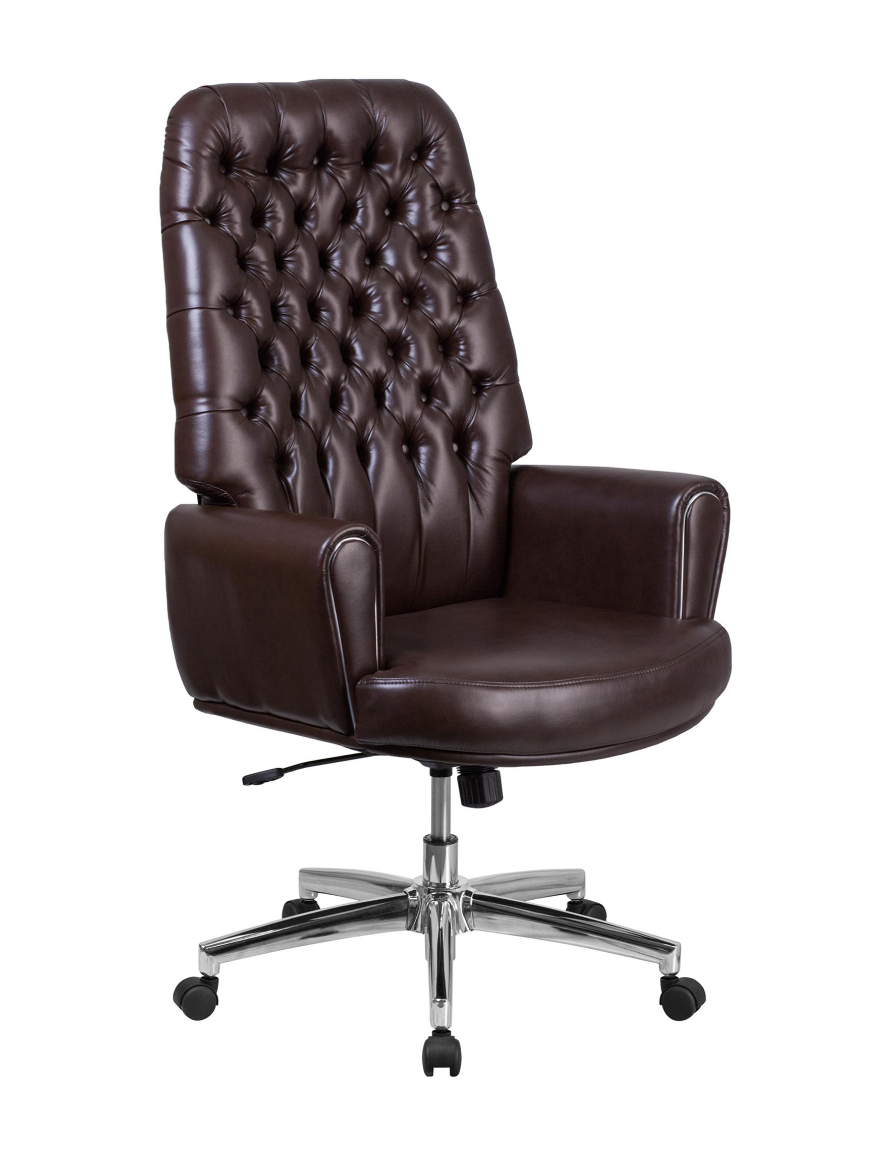 Flash Furniture Brown Home Office Furniture