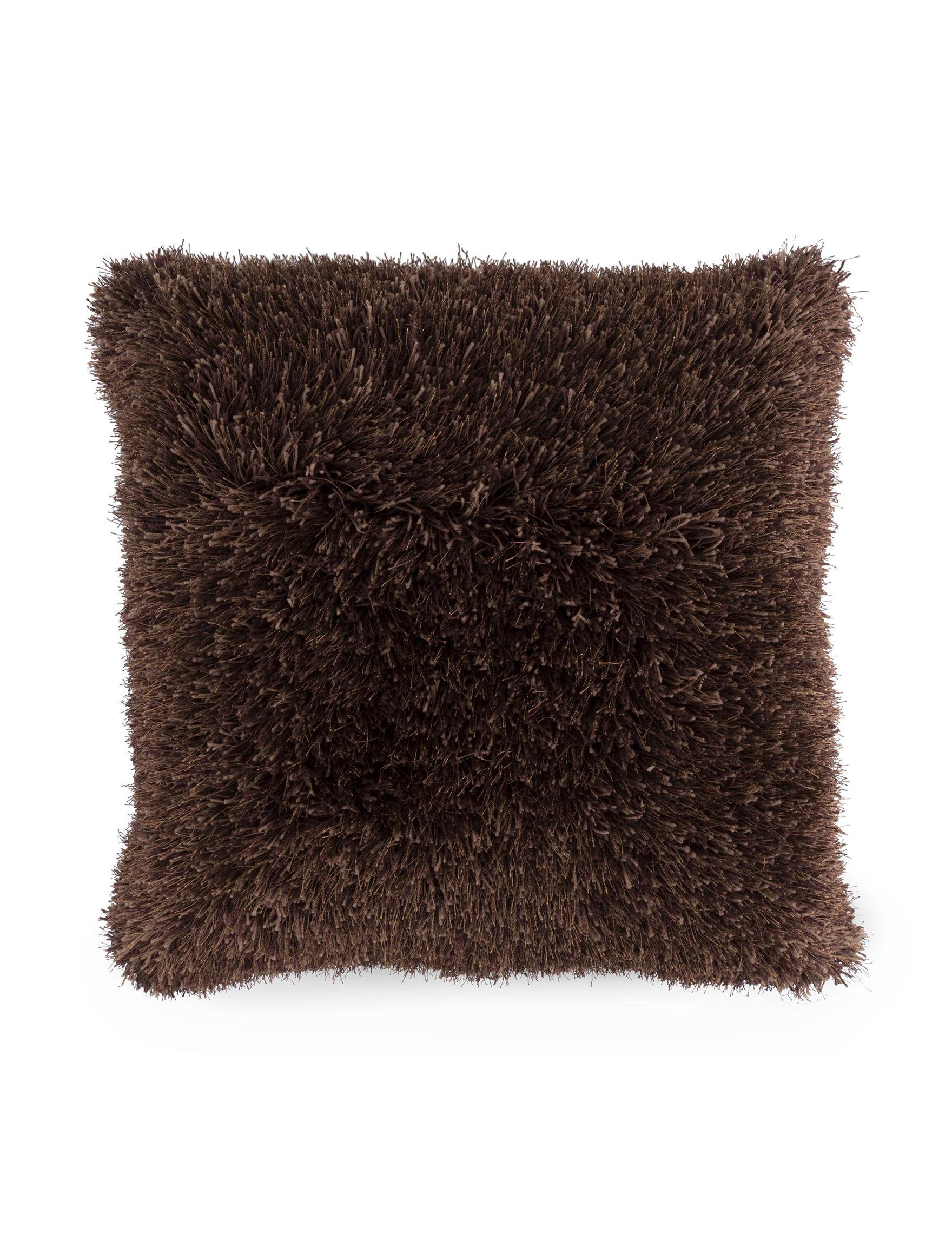 Lavish Home Brown Bed Pillows Decorative Pillows