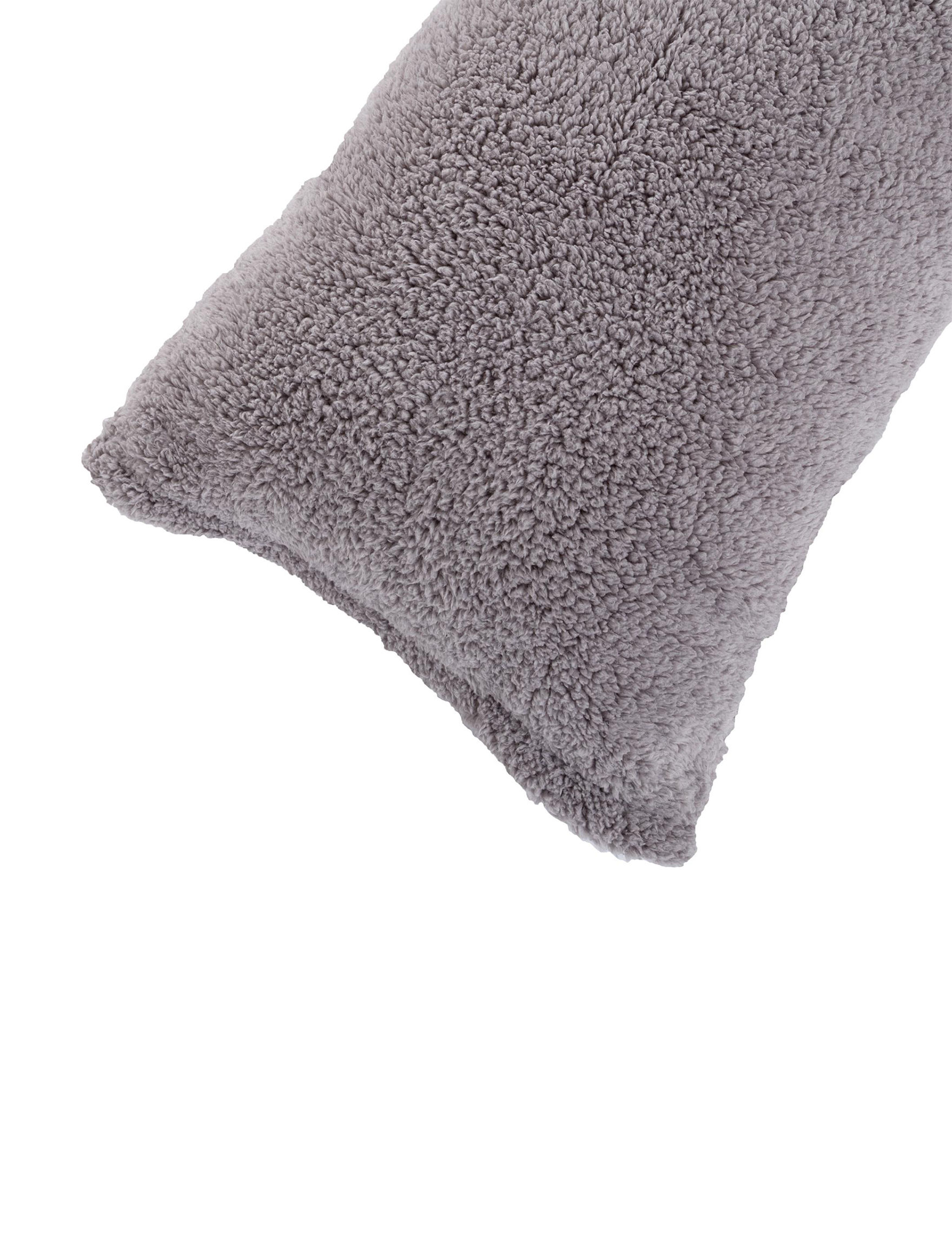 Lavish Home Grey Pillow Shams