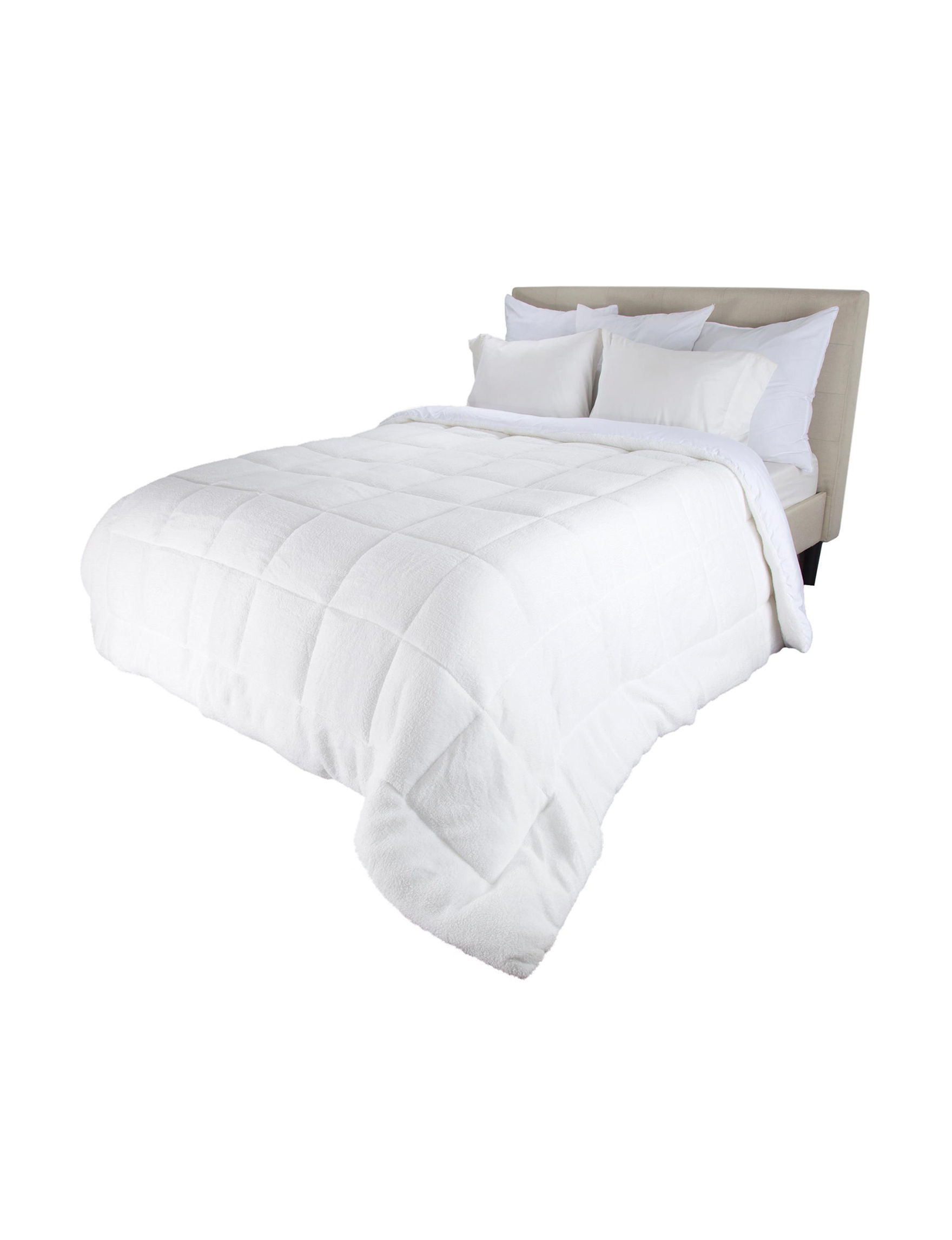 Blue Stone White Down & Down Alternative Comforters