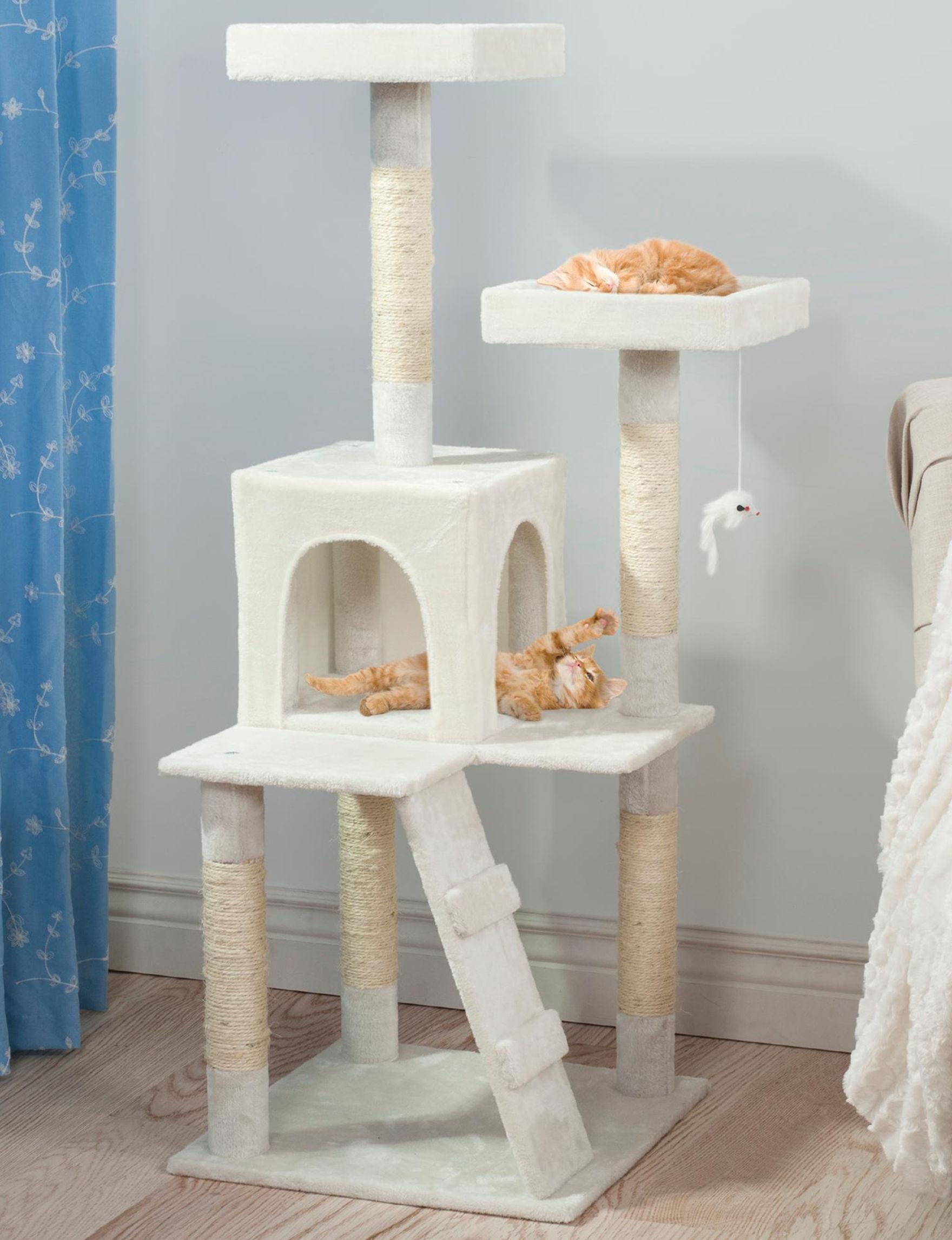 Petmaker White Pet Beds & Houses